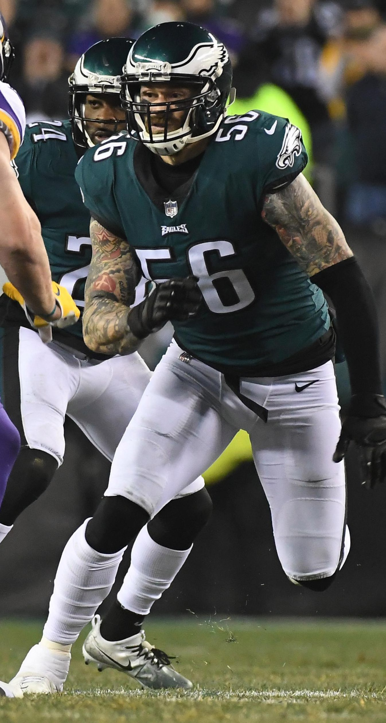 Eagles ace Chris Long is now outspoken on social issues and also helps charities