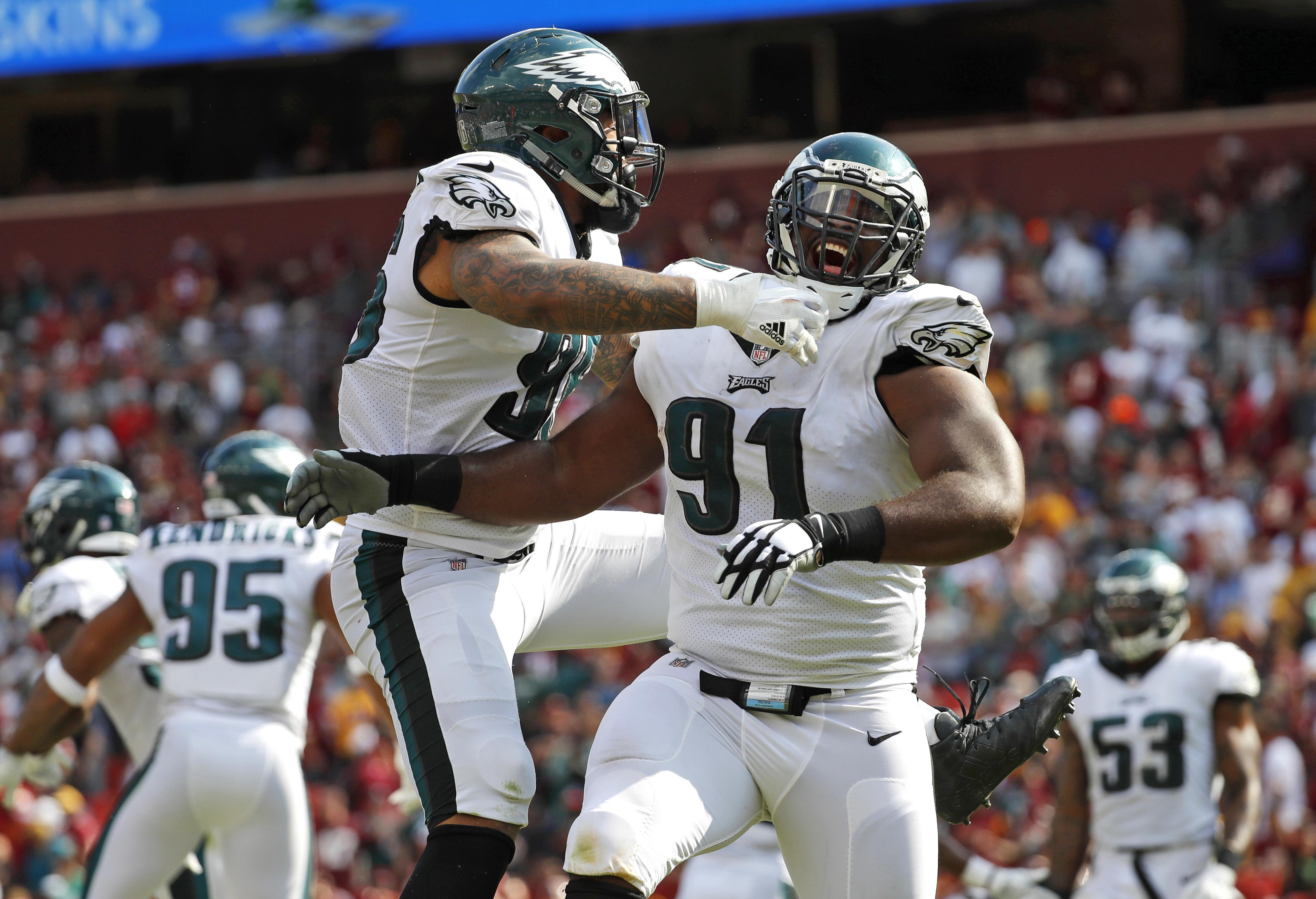 The Eagles' D is a frightening prospect and could prove decisive