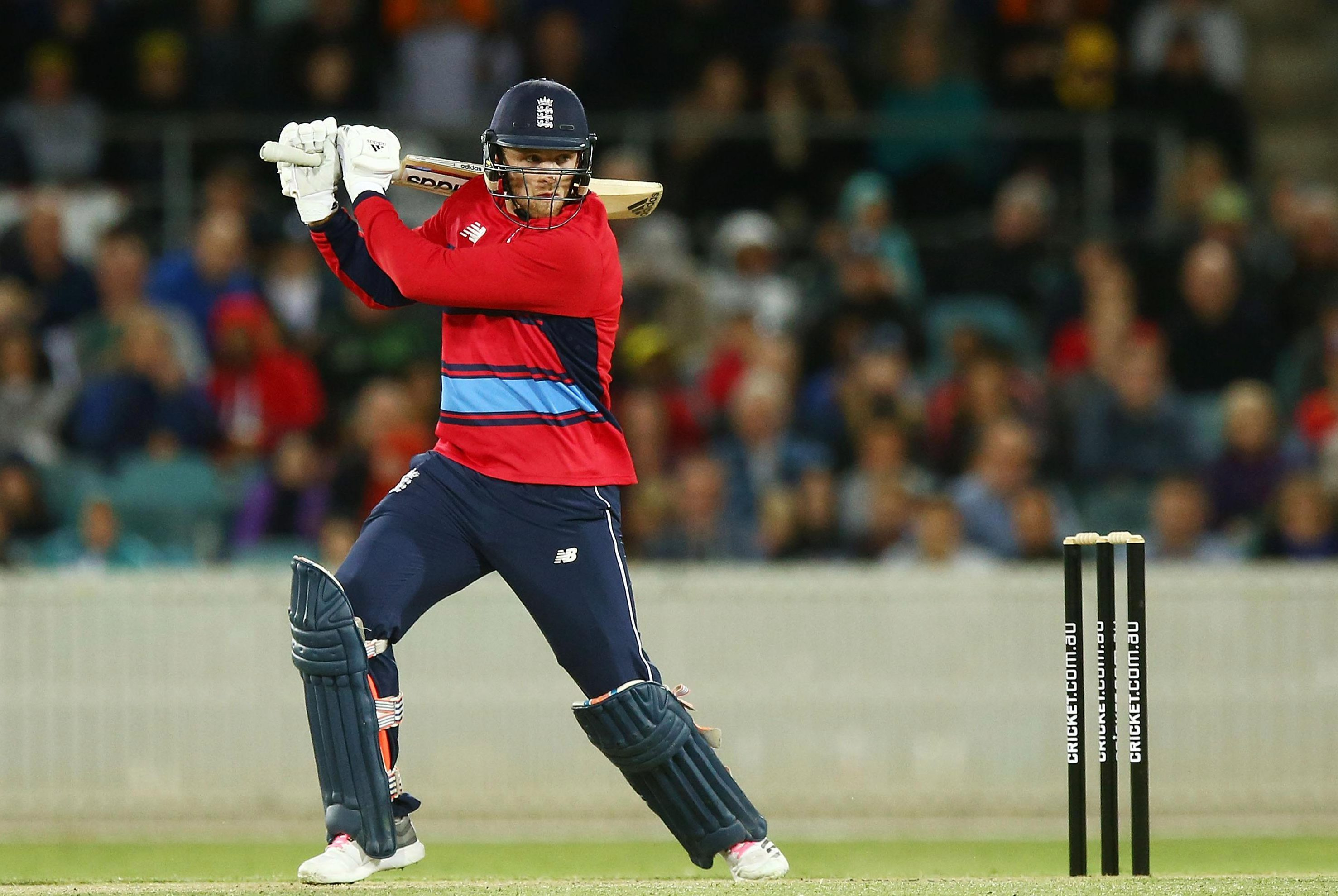 The England star nearly hit six sixes in a single over