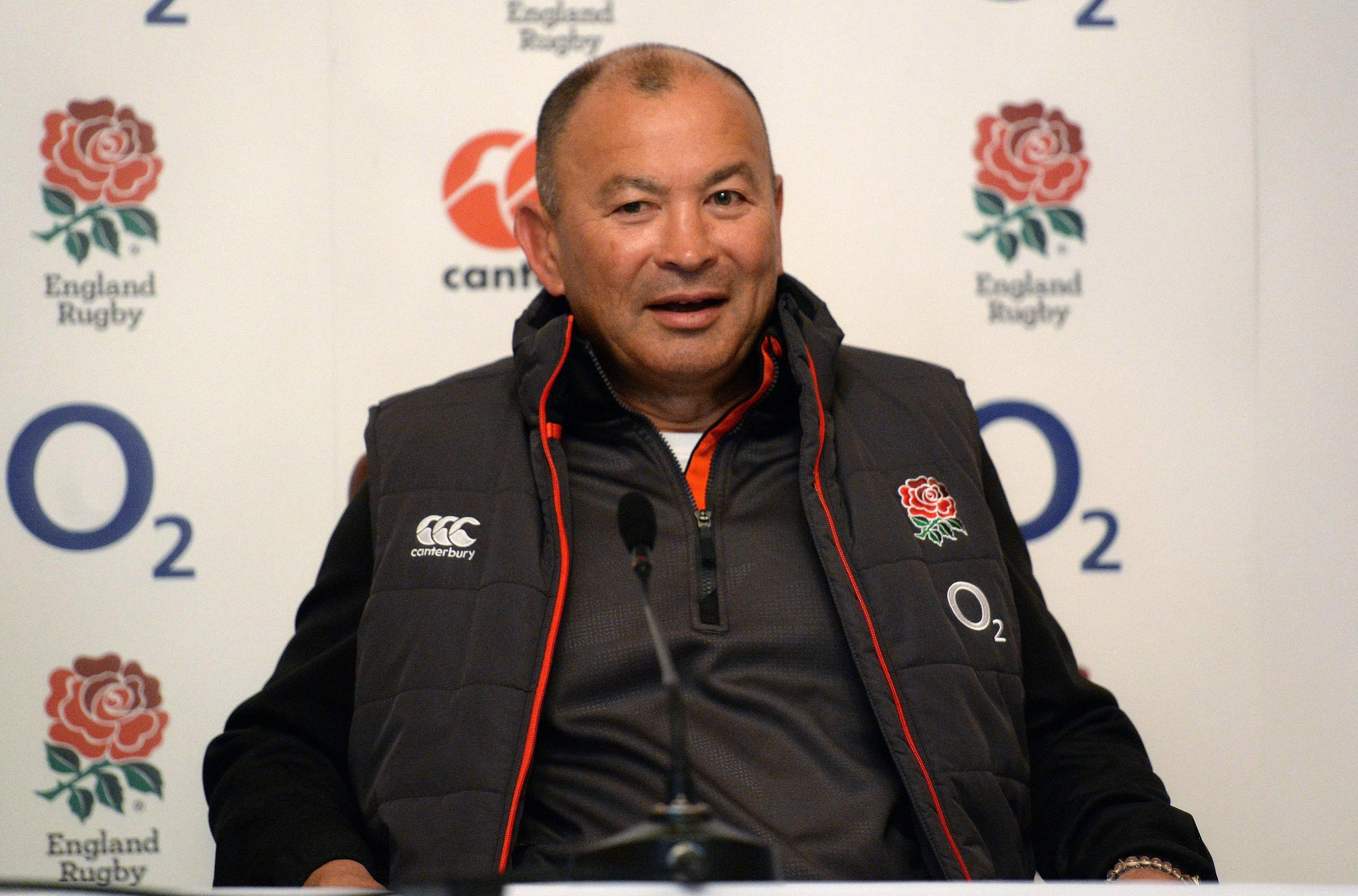 Eddie Jones is relishing getting back to Twickenham