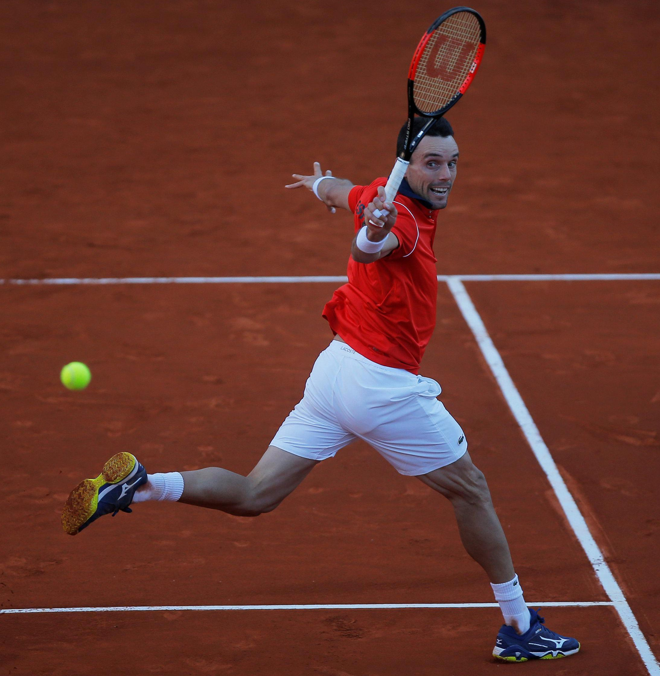 World No23 Roberto Bautista Agut was overwhelming favourite before the match - and especially when he led British outsider Cameron Norrie by two sets