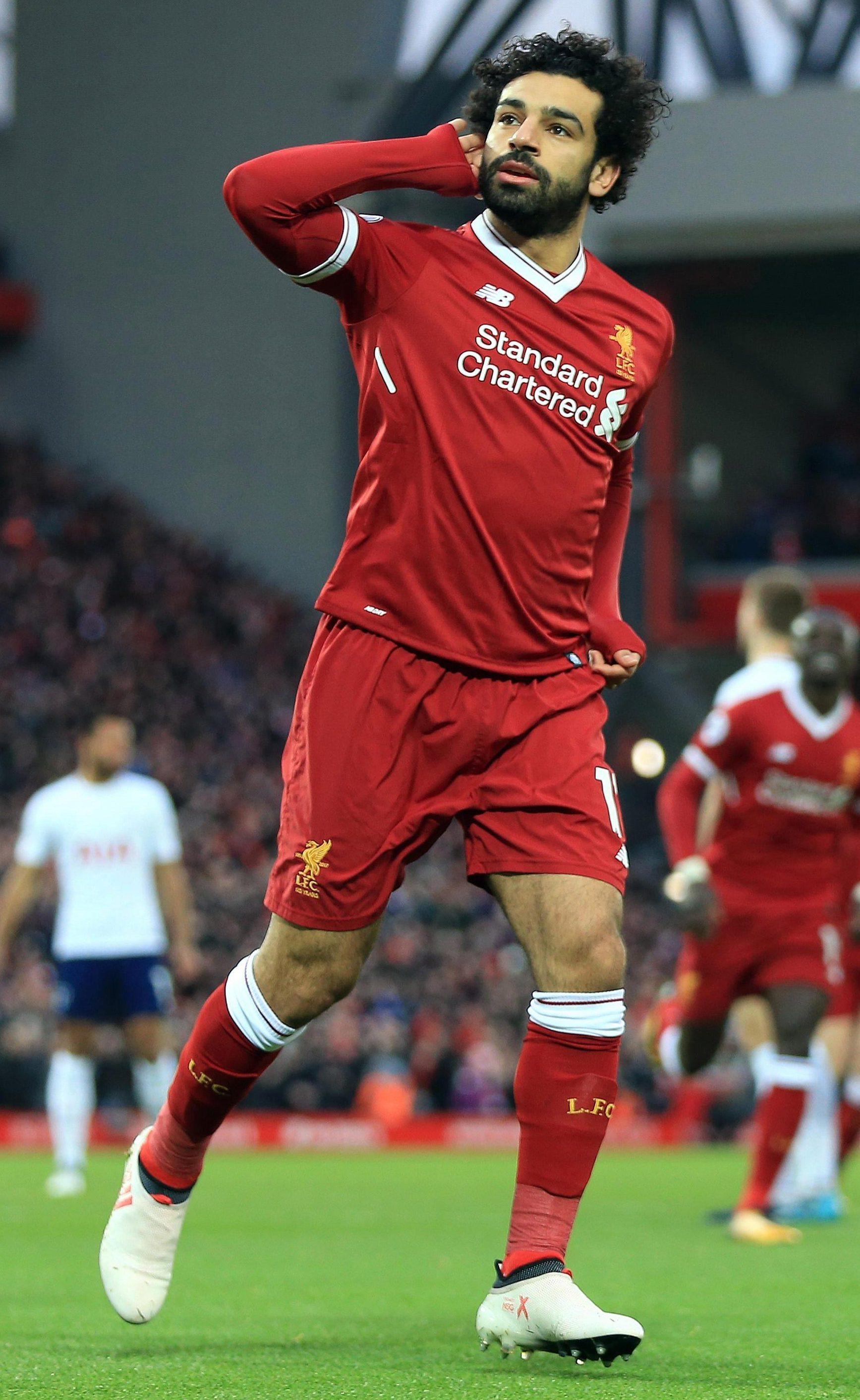 Liverpool striker Mo Salah has already scored 31 goals this season
