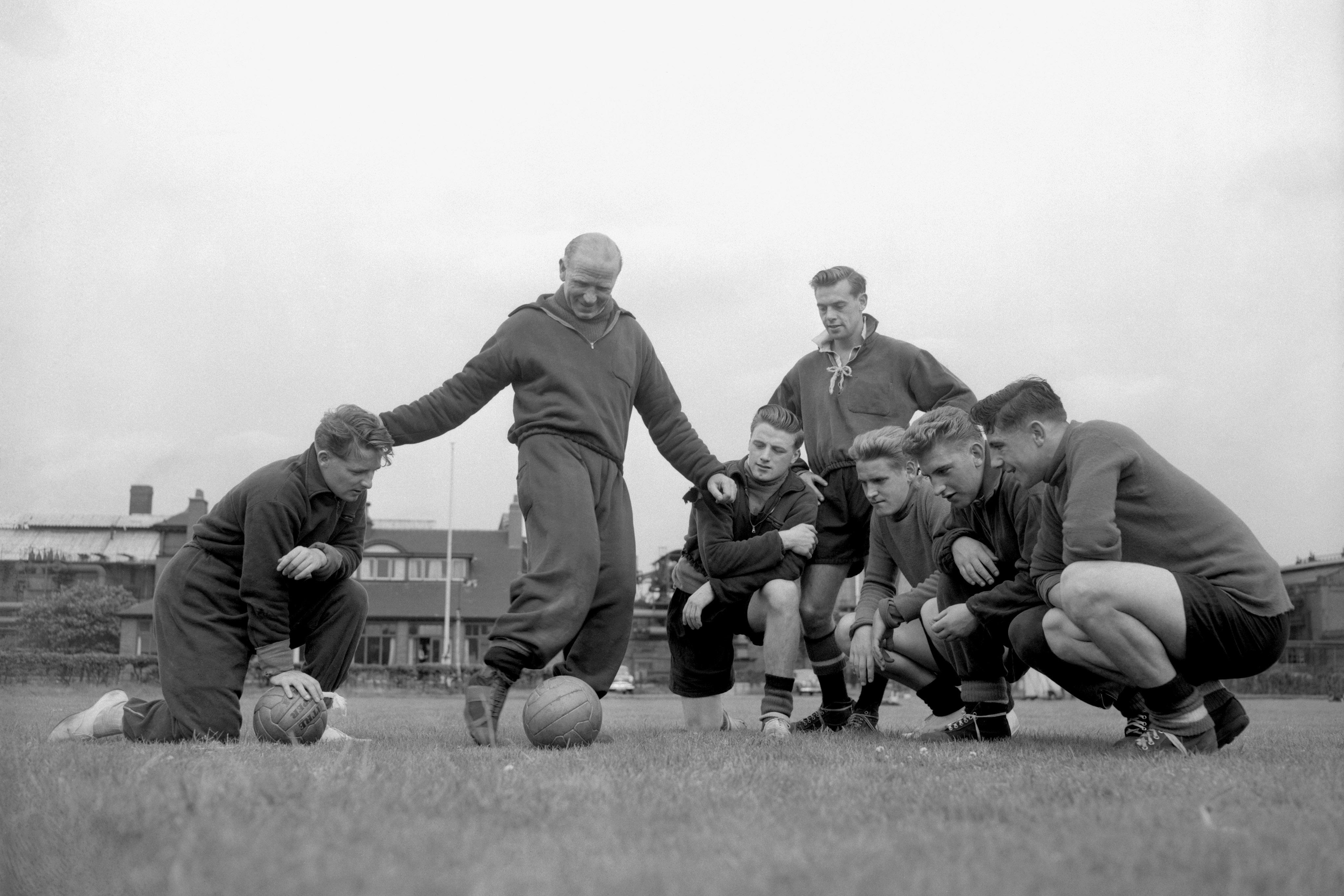 Sir Matt Busby's fantastic young team had threatened to become one of the best teams in Europe