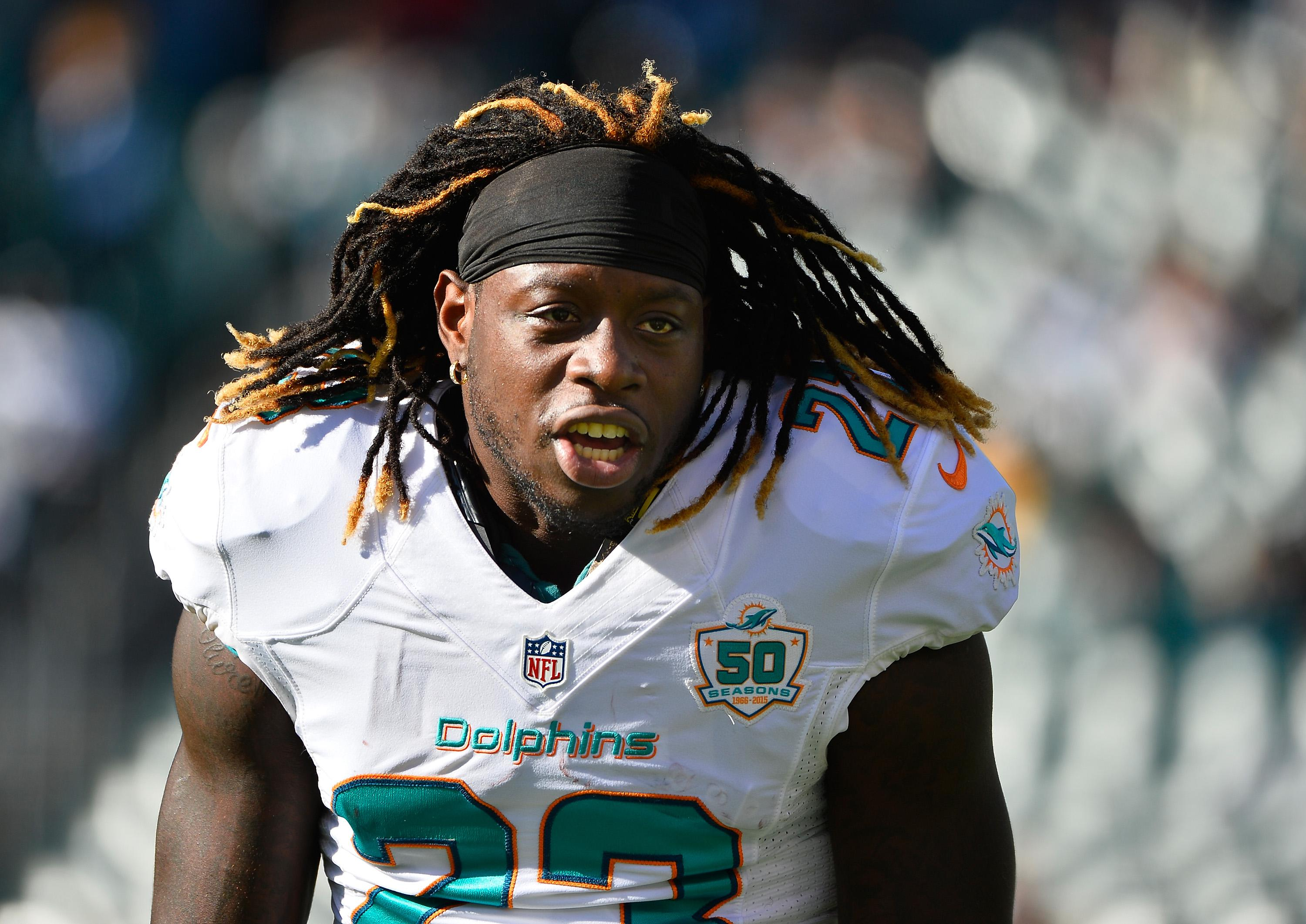Ajayi first played as an NFL pro at the Miami Dolphins