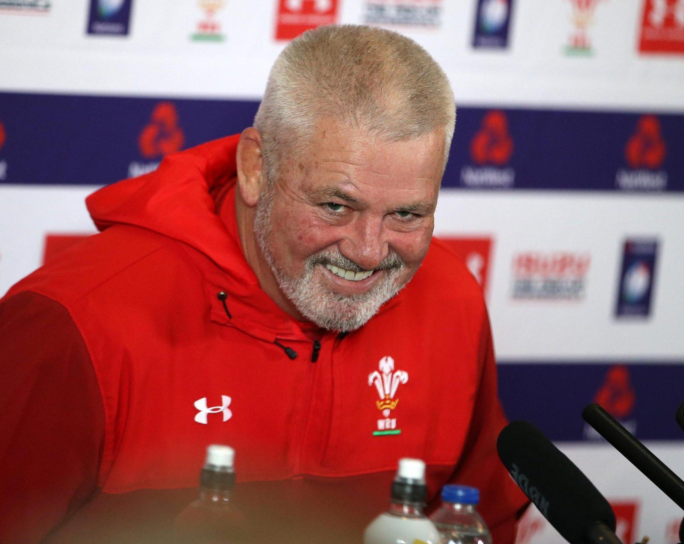Warren Gatland is confident Wales' superior fitness levels will prove pivotal