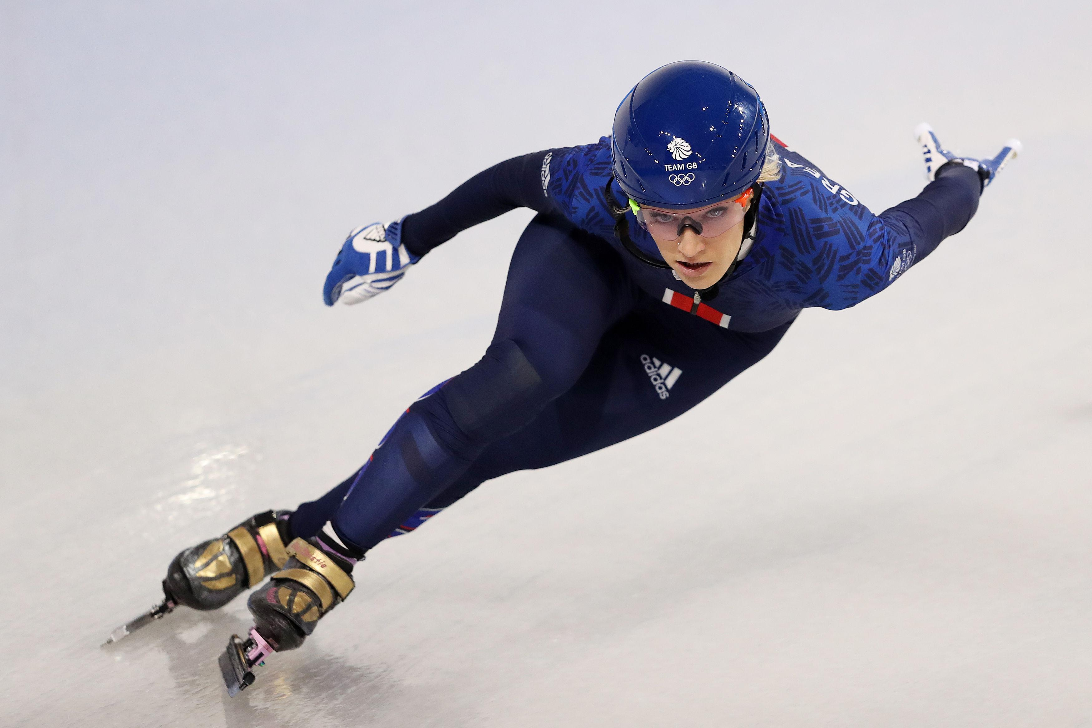 Elise Christie wants to get over her disappointment in Sochi and win gold