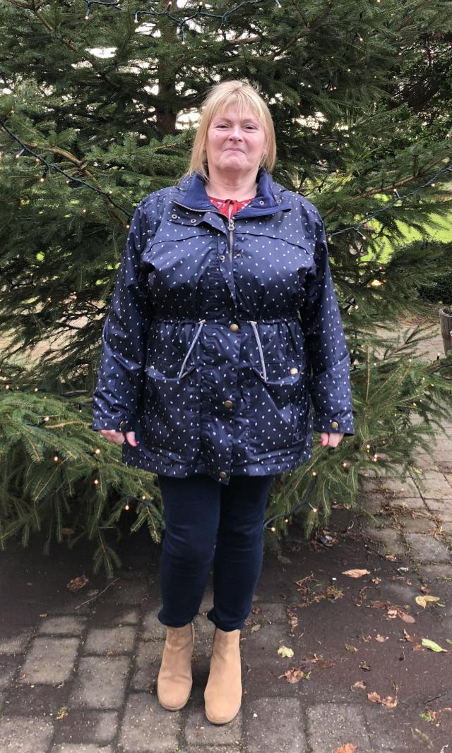 Julie said her symptoms started to ease within weeks of using Celafen