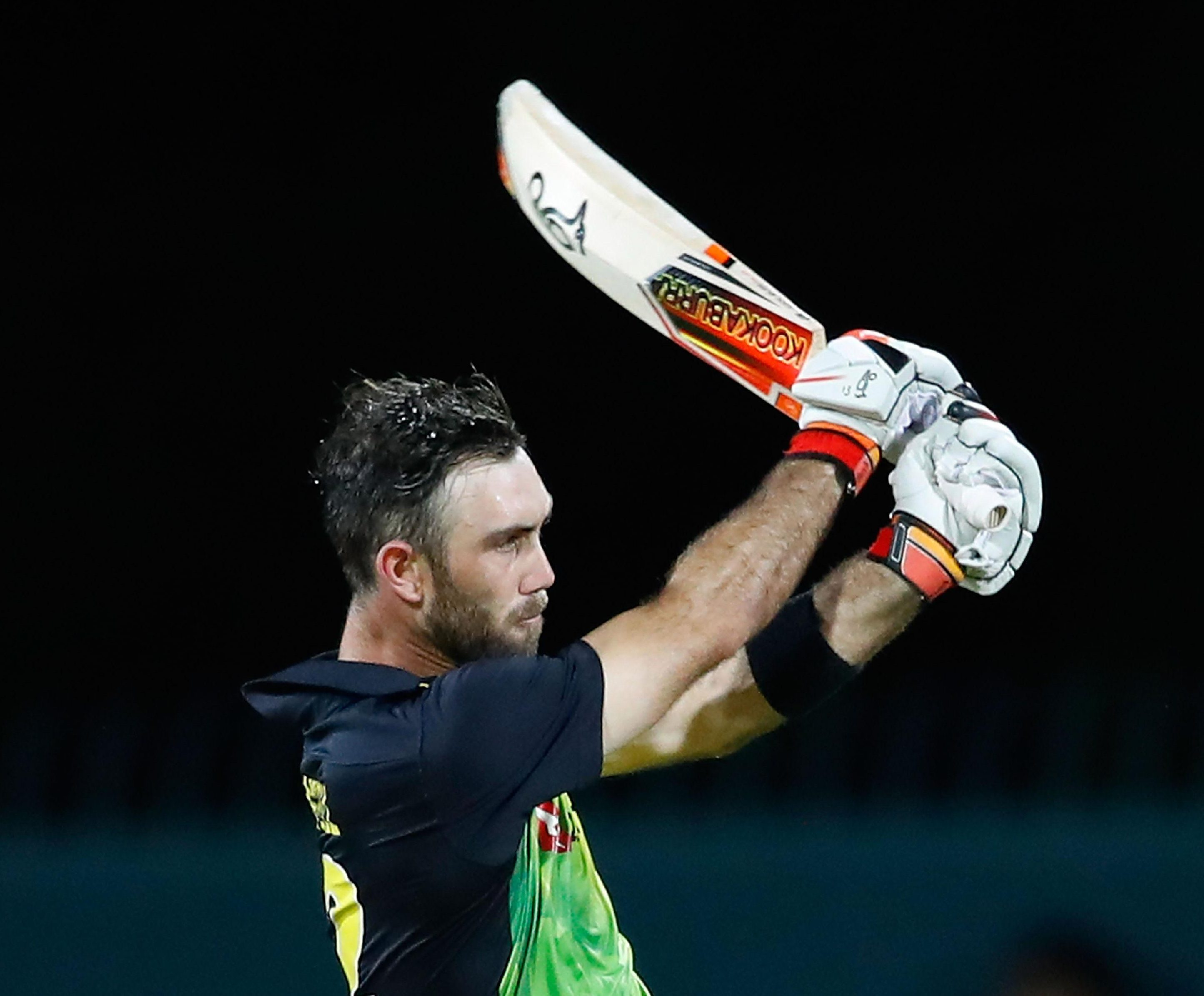 Glenn Maxwell powered Australia to victory in the Hobart showdown