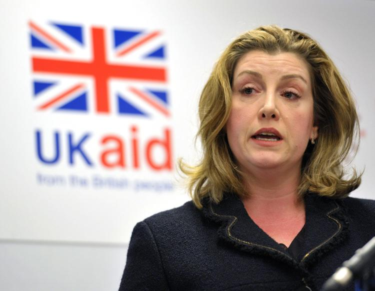"""Penny Mordaunt last night vowed to """"step up our work to tackle sexual exploitation and abuse across the UN"""""""