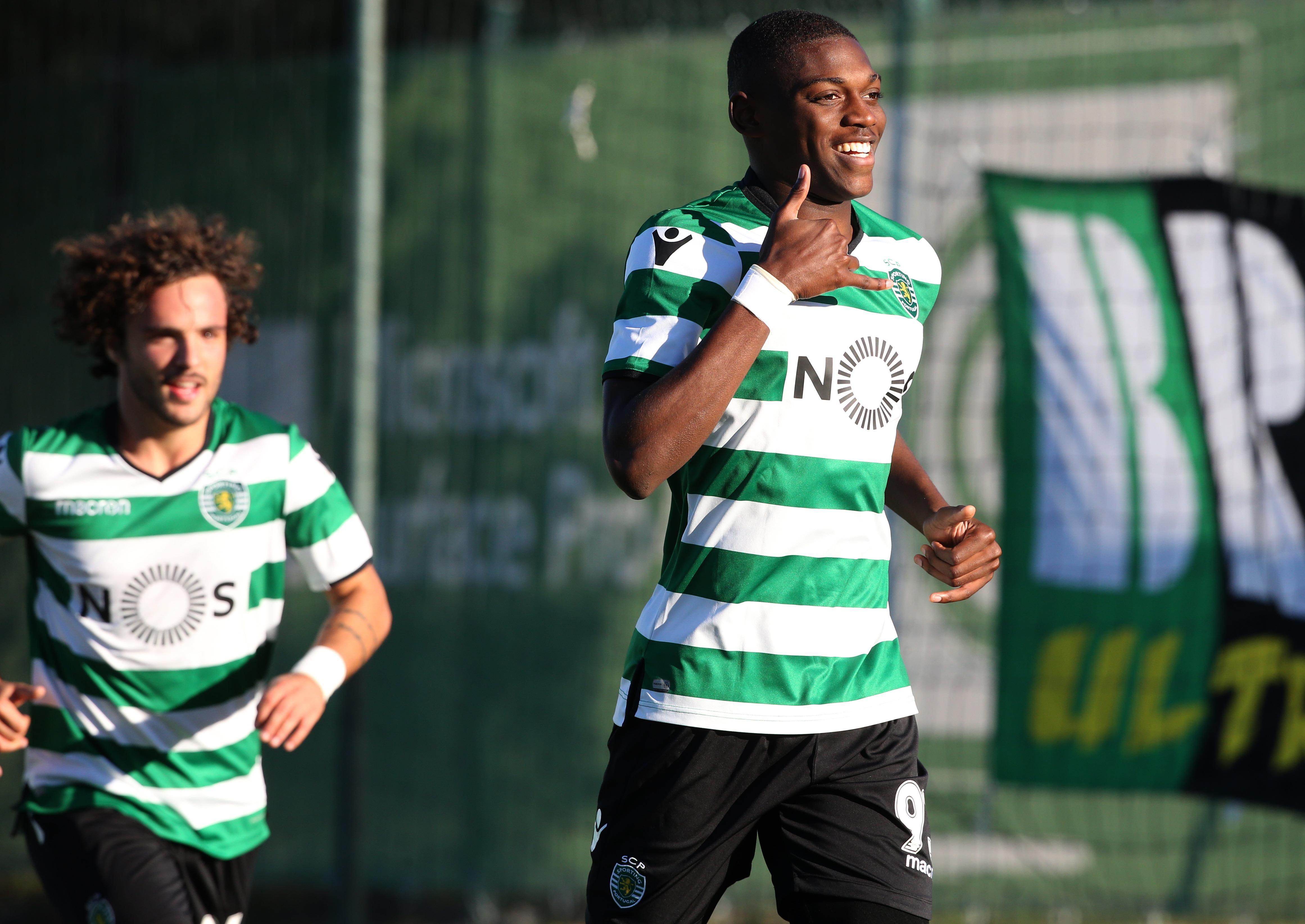 Rafael Leao made his debut for Sporting Lisbon at the weekend