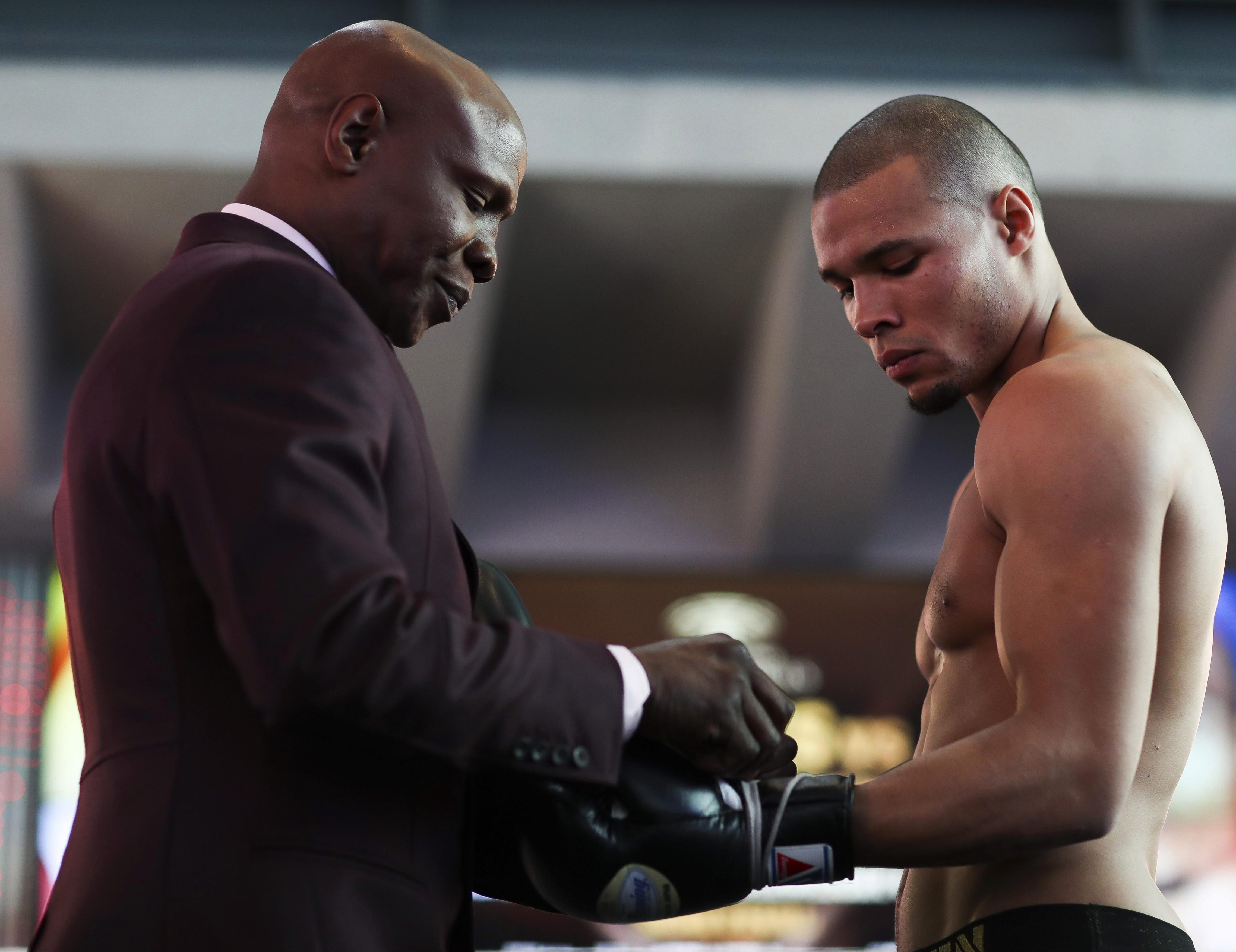 Former two-weight world champion Chris Eubank Snr has always had a big hand in the career of his son - who himself is now fighting for a title