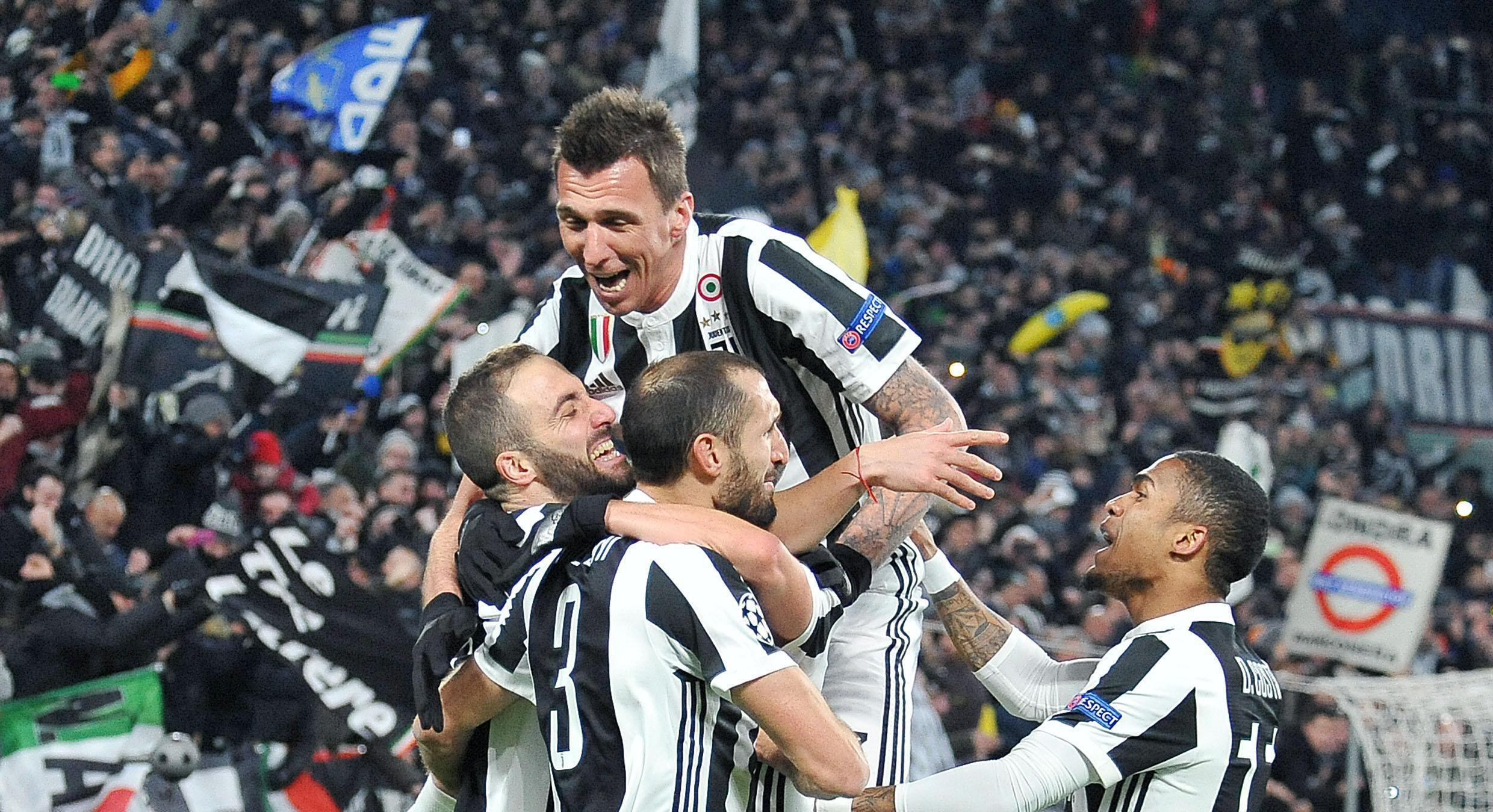 Juventus raced into the lead thanks to a brace from Gonzalo Higuain