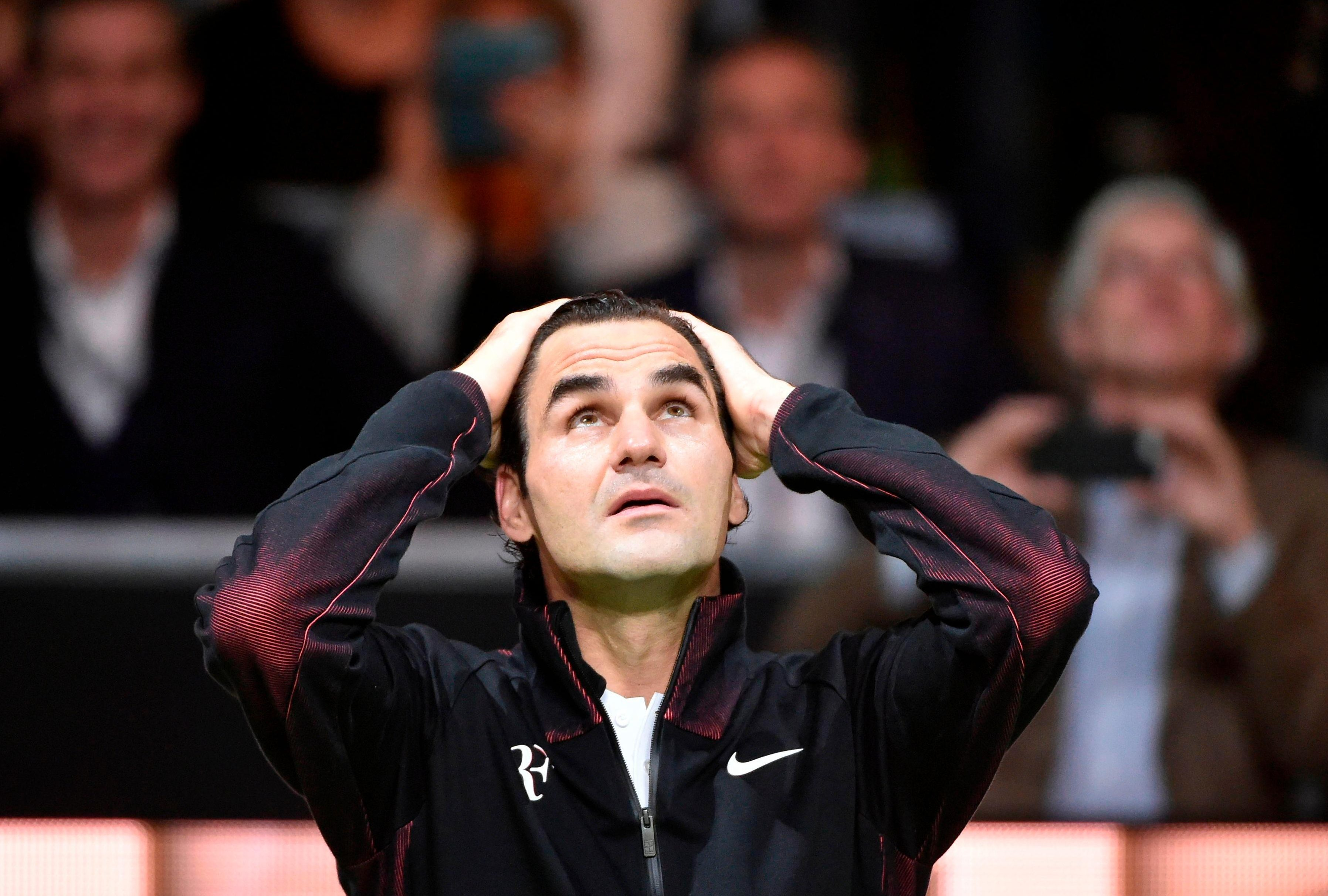 Things could not be looking up any better for Roger Federer as he became No 1