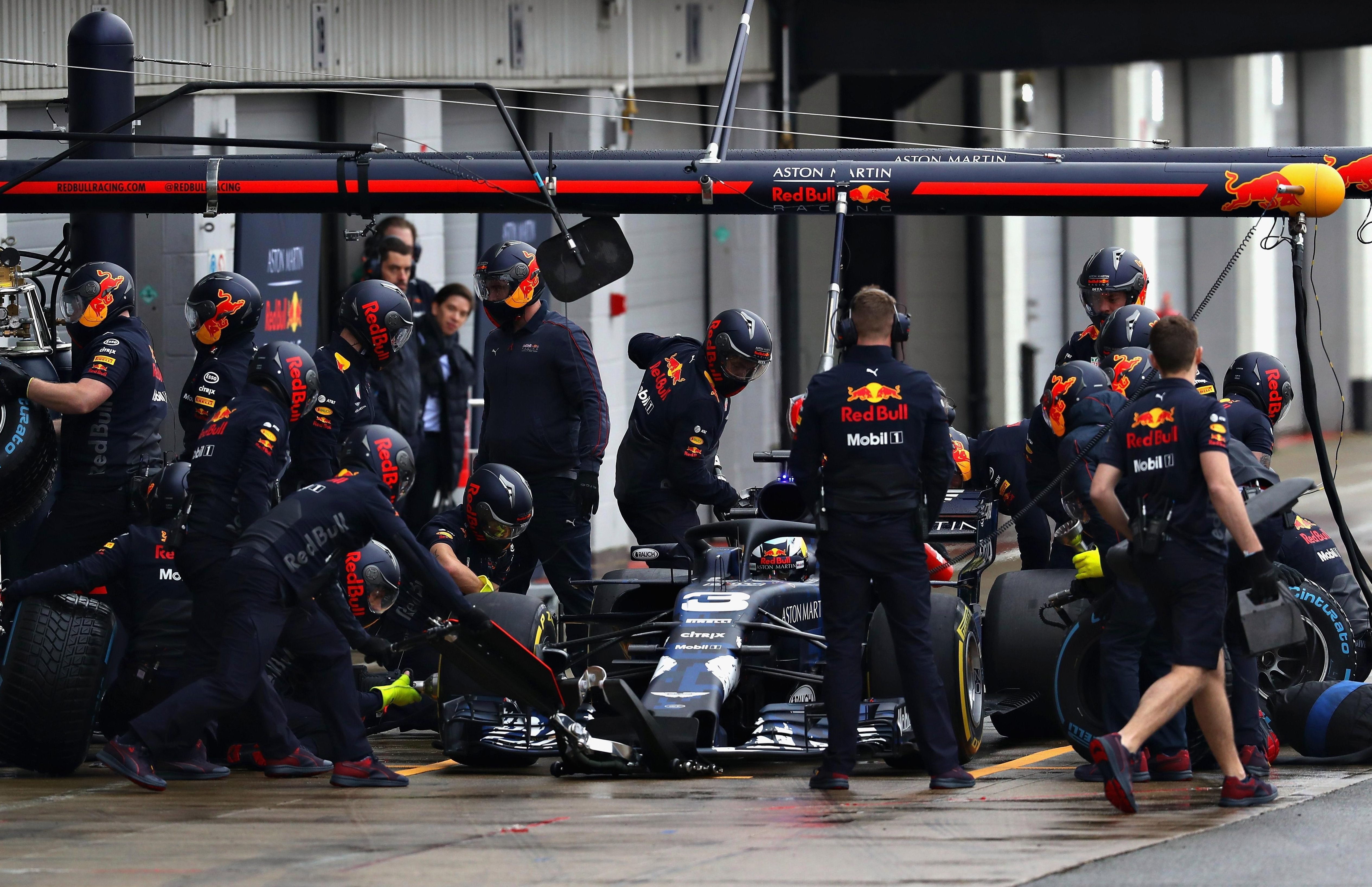 Red Bull insist that the damage is only minor