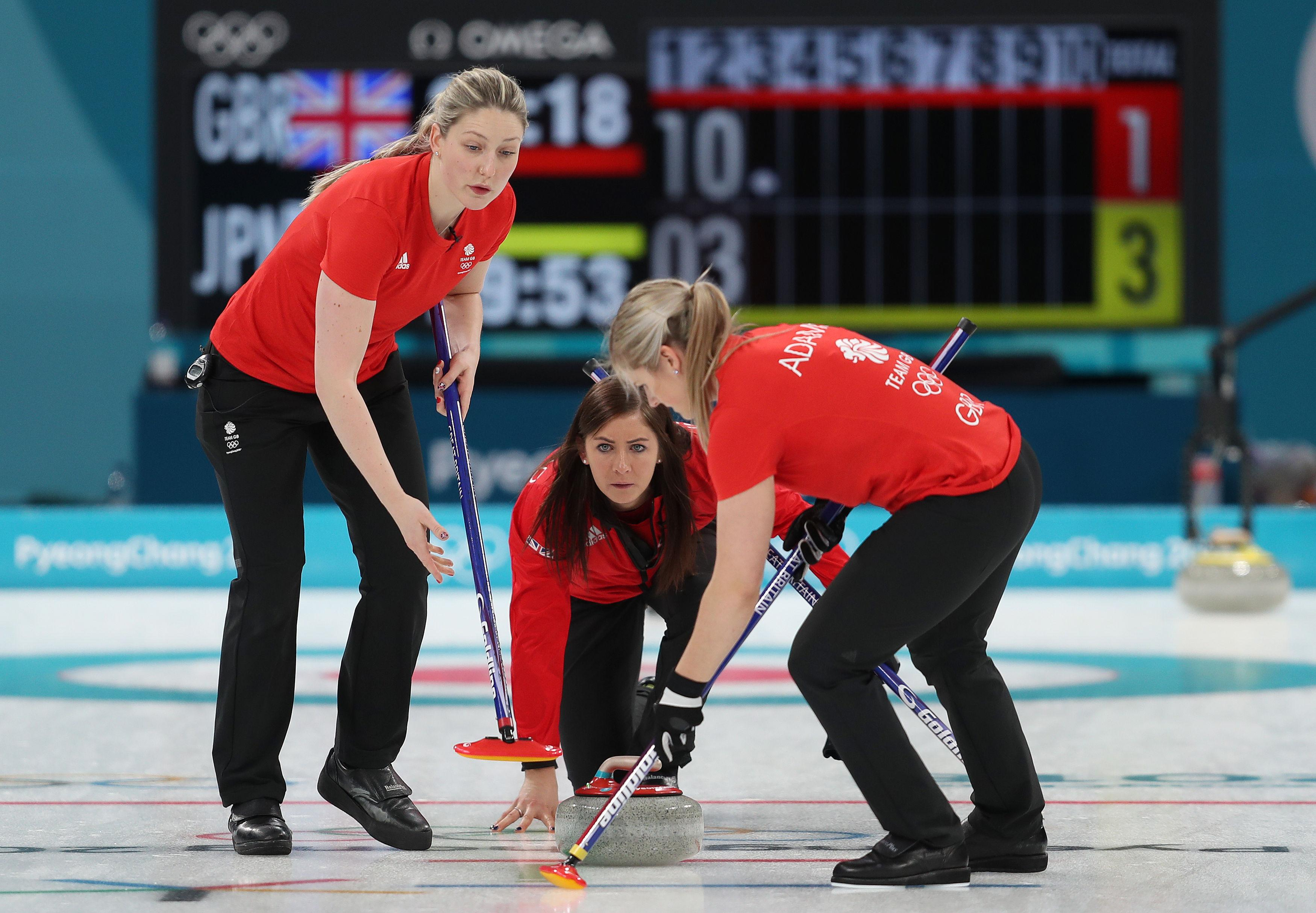 Team GB women are through to the semi-final in curling to face Sweden