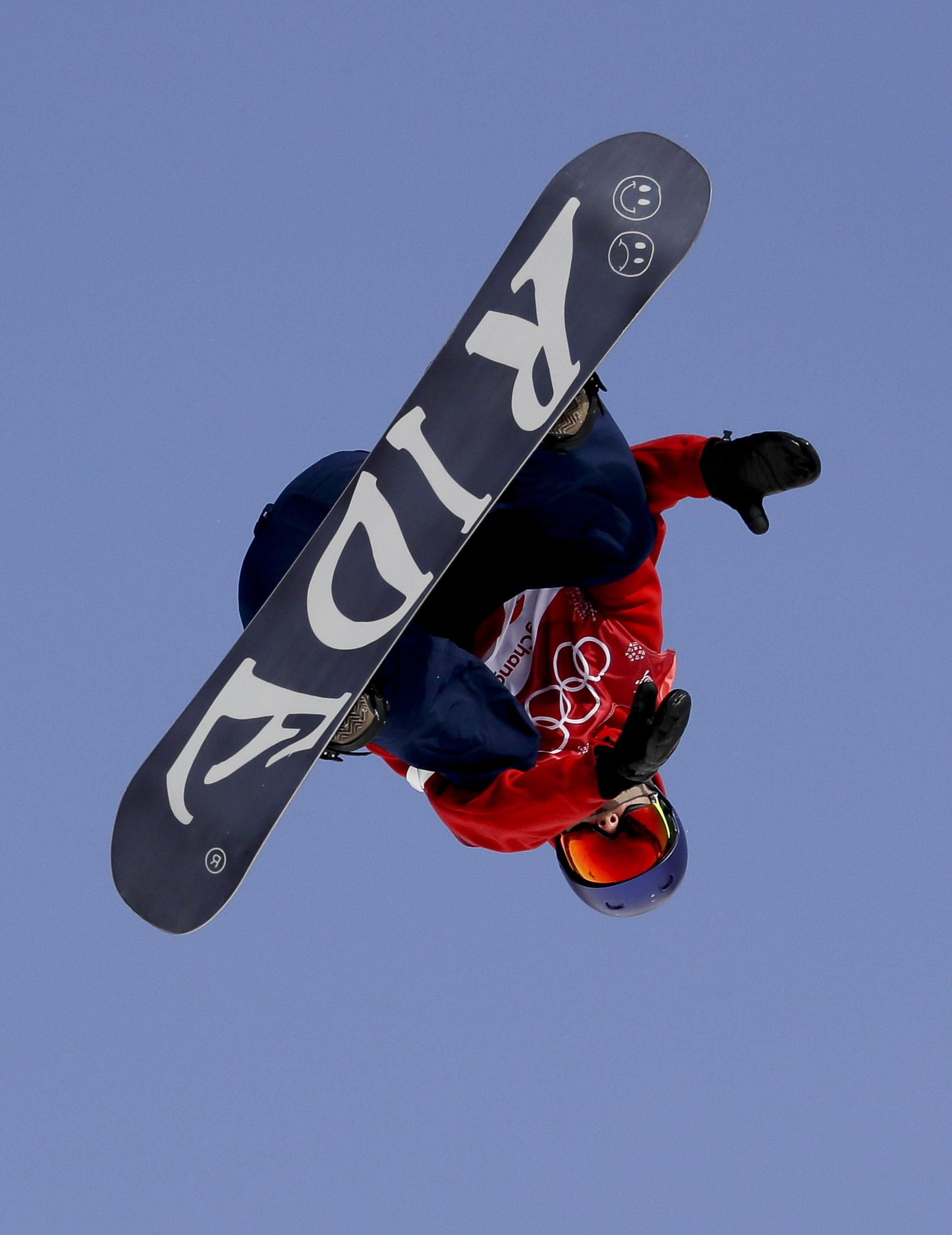 Morgan started snowboarding at the age of 14 after switching from acrobatic gymnastics