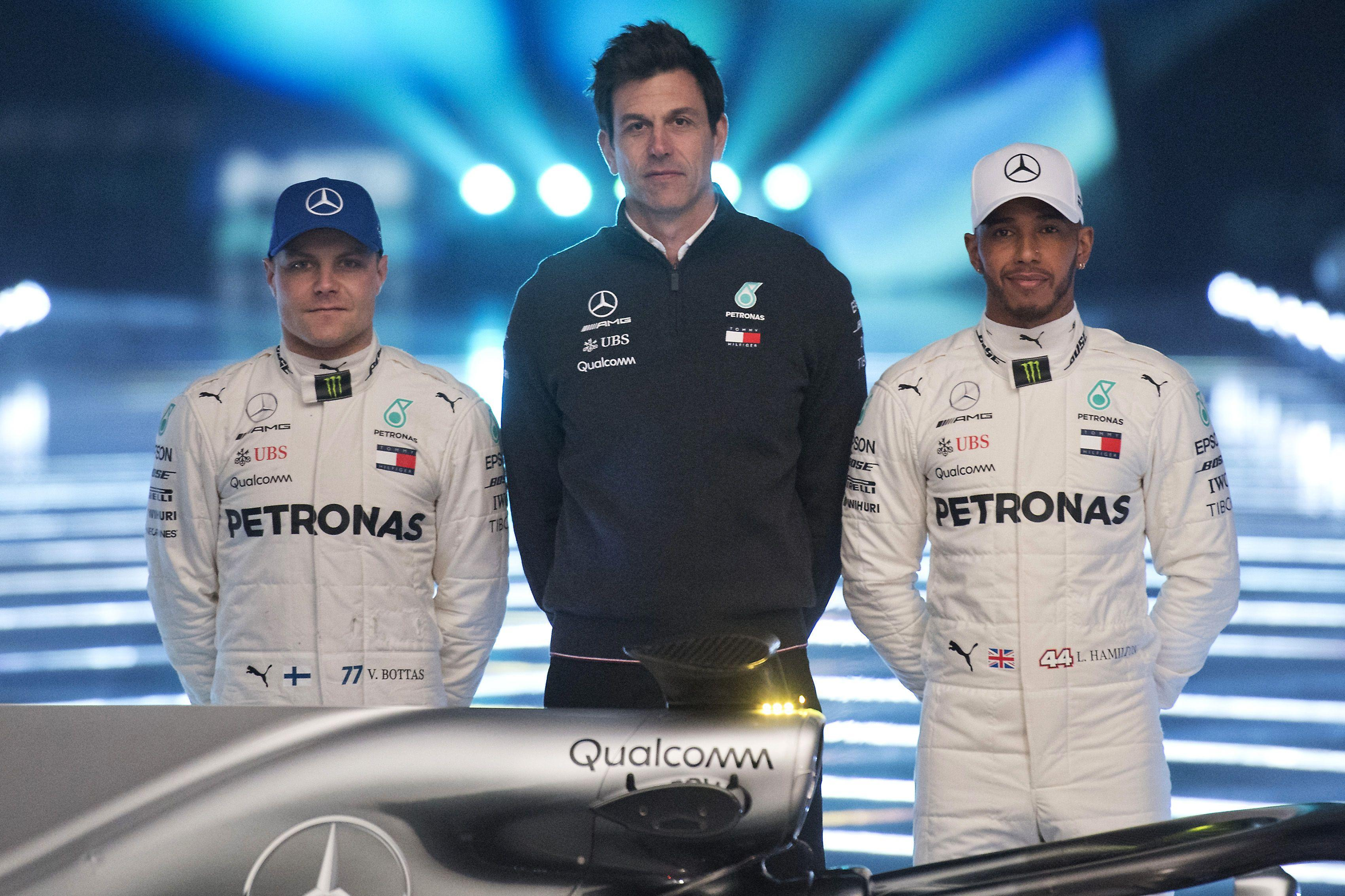 Lewis Hamilton and Valtteri Bottas have been teamed together for a second season at Mercedes