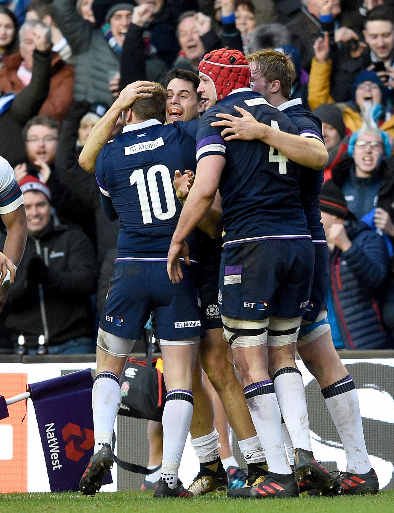 Scotland were 25-13 victors over Eddie Jones' men as they won the Calcutta Cup
