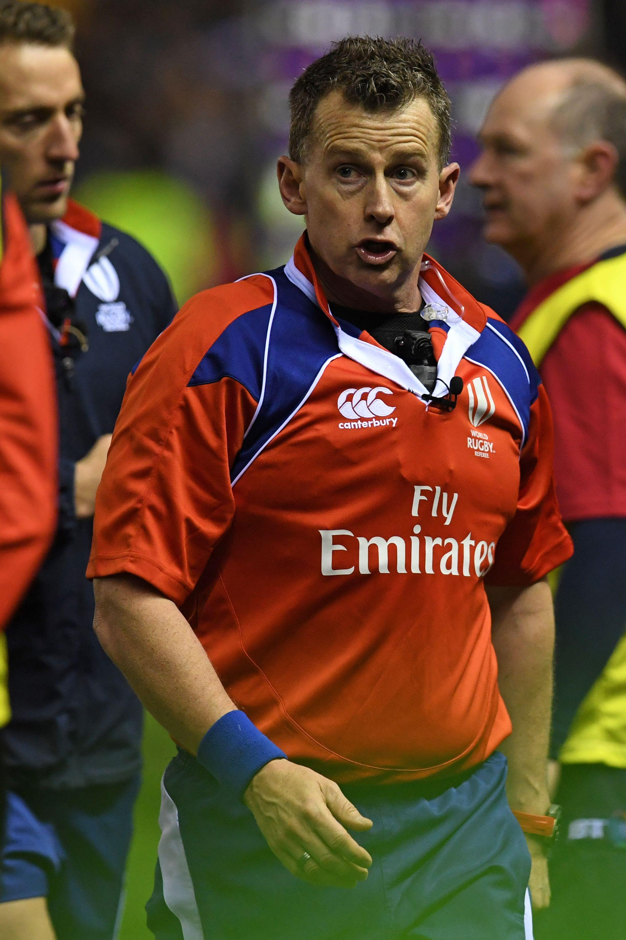 Nigel Owens is the first openly gay man to referee at the highest level