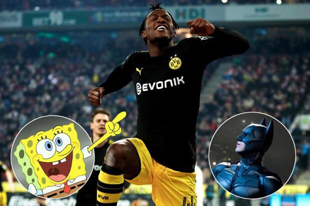 Michy Batshuayi Reveals Why He Joined Borussia Dortmund Because He Loves Spongebob And Batman