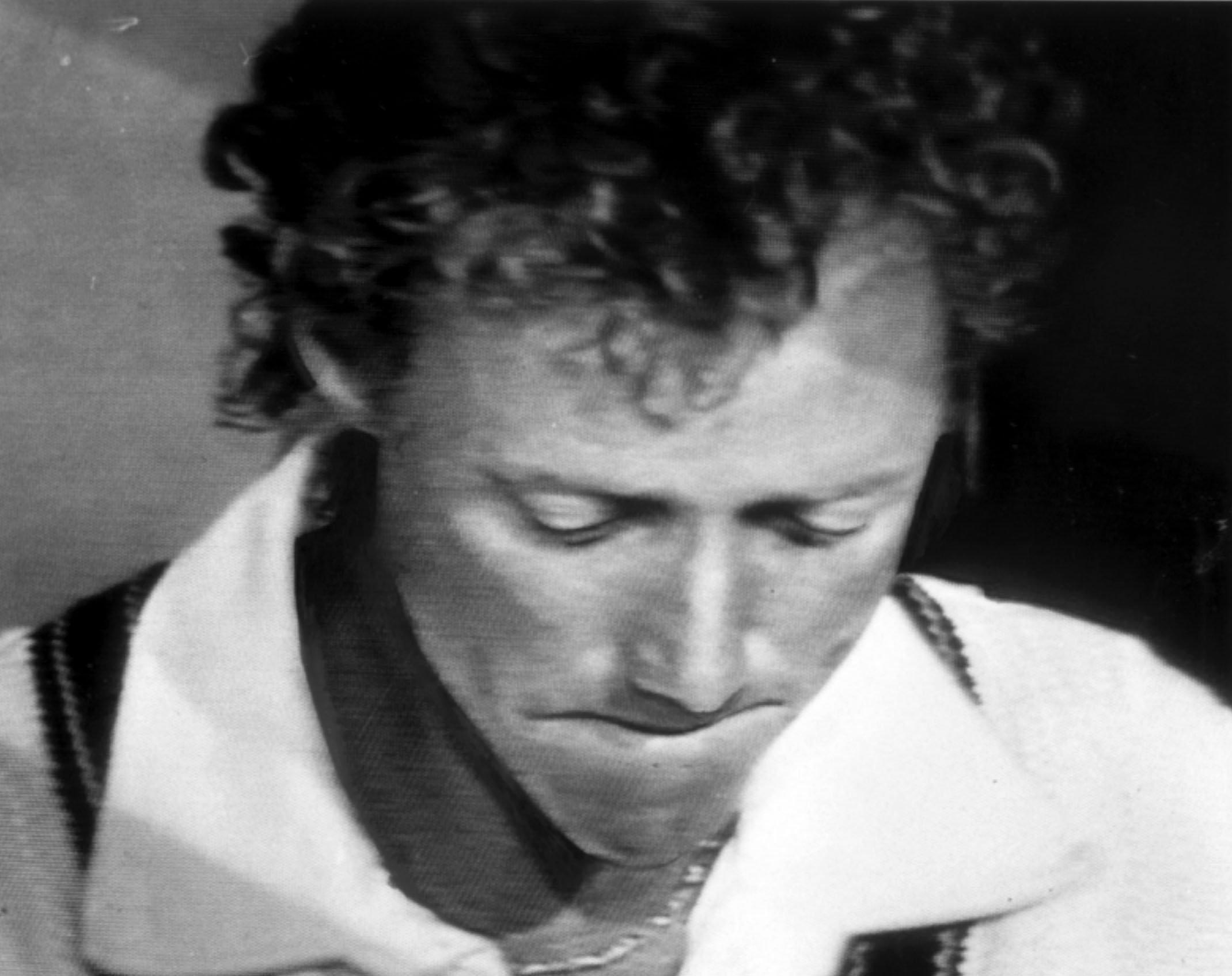 Kim Hughes cried as he resigned from the Australian captaincy in 1984