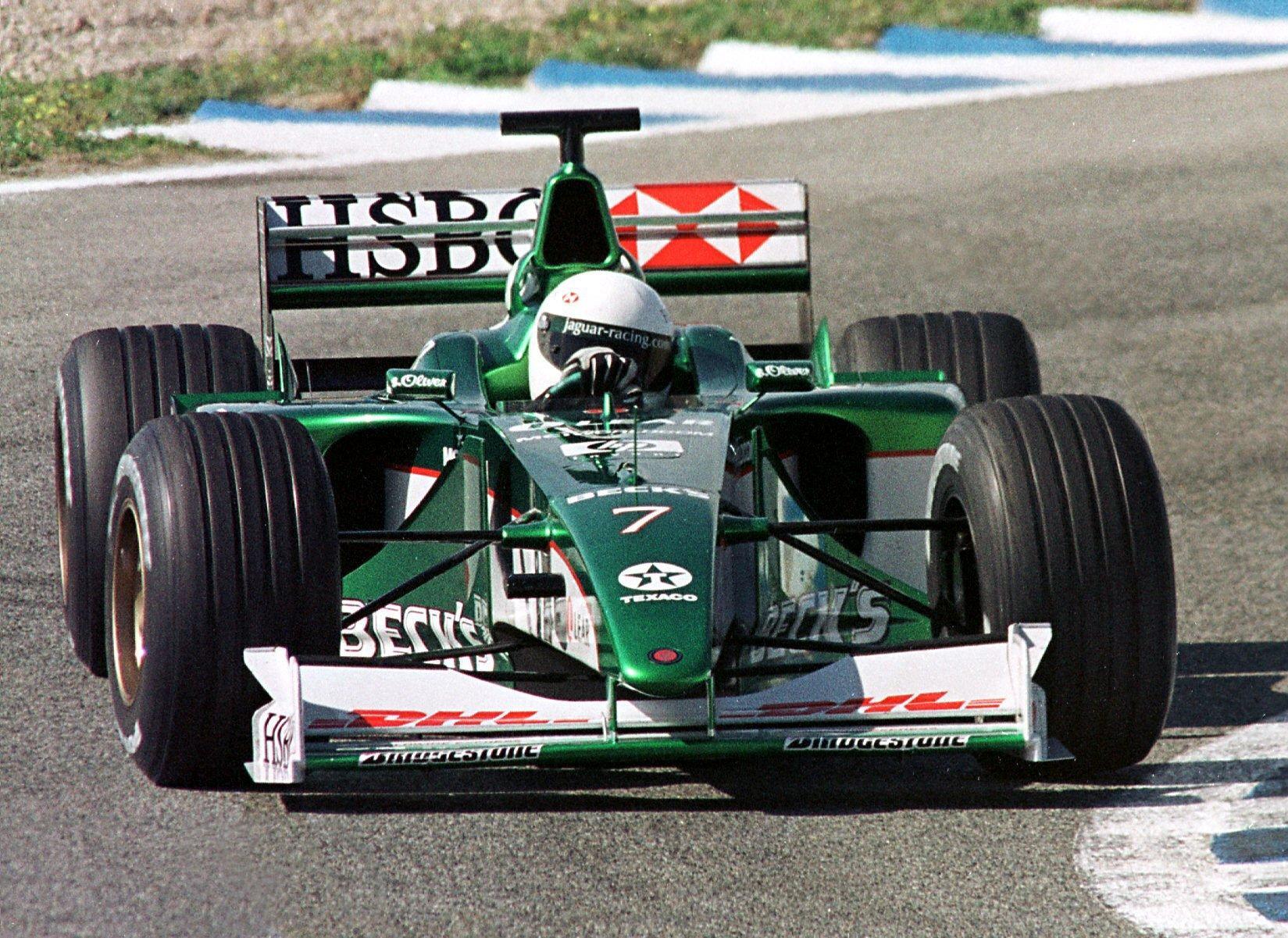 Irvine was a star driver for Jaguar during nine seasons in Formula 1