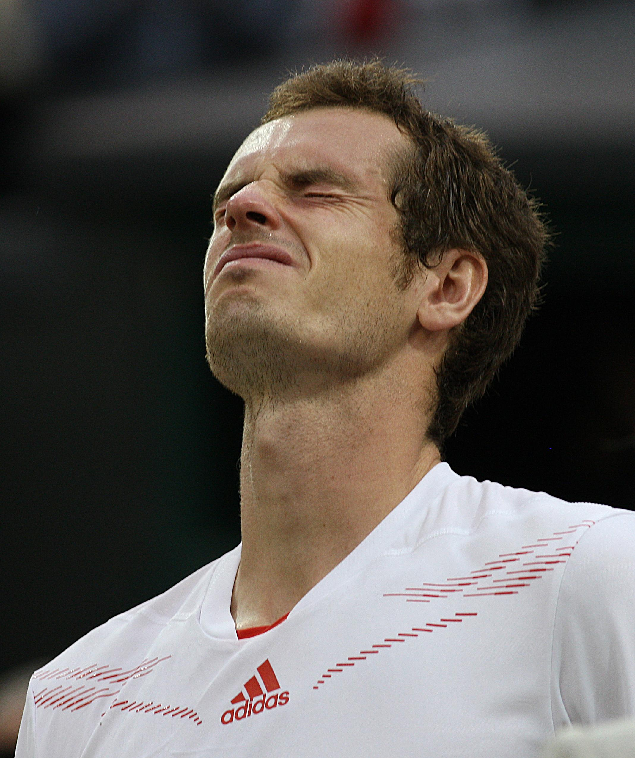 Andy Murray couldn't hold back the tears after losing the 2012 Wimbledon final