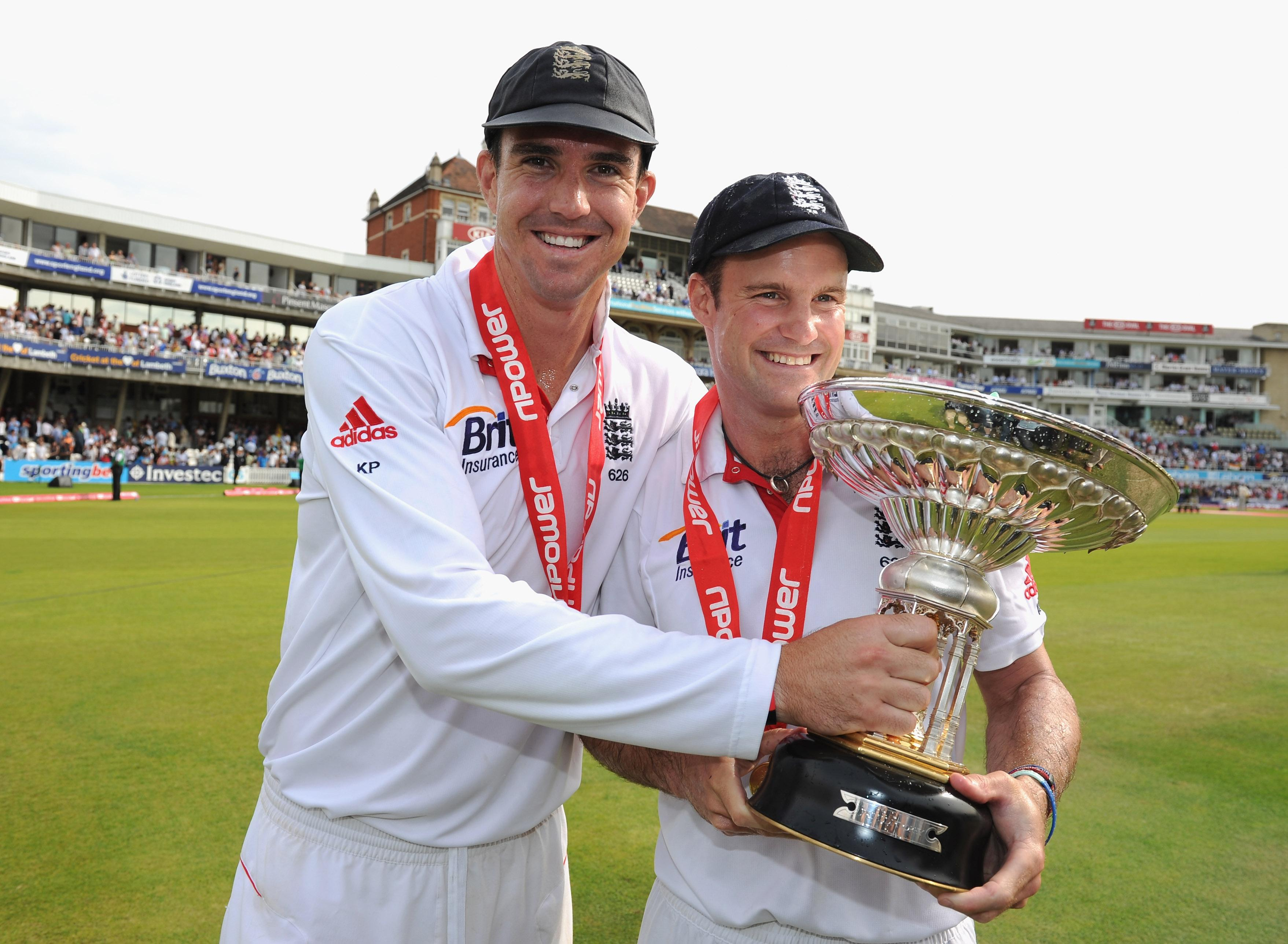 Kevin Pietersen famously fell out with England hierarchy such as Andrew Strauss