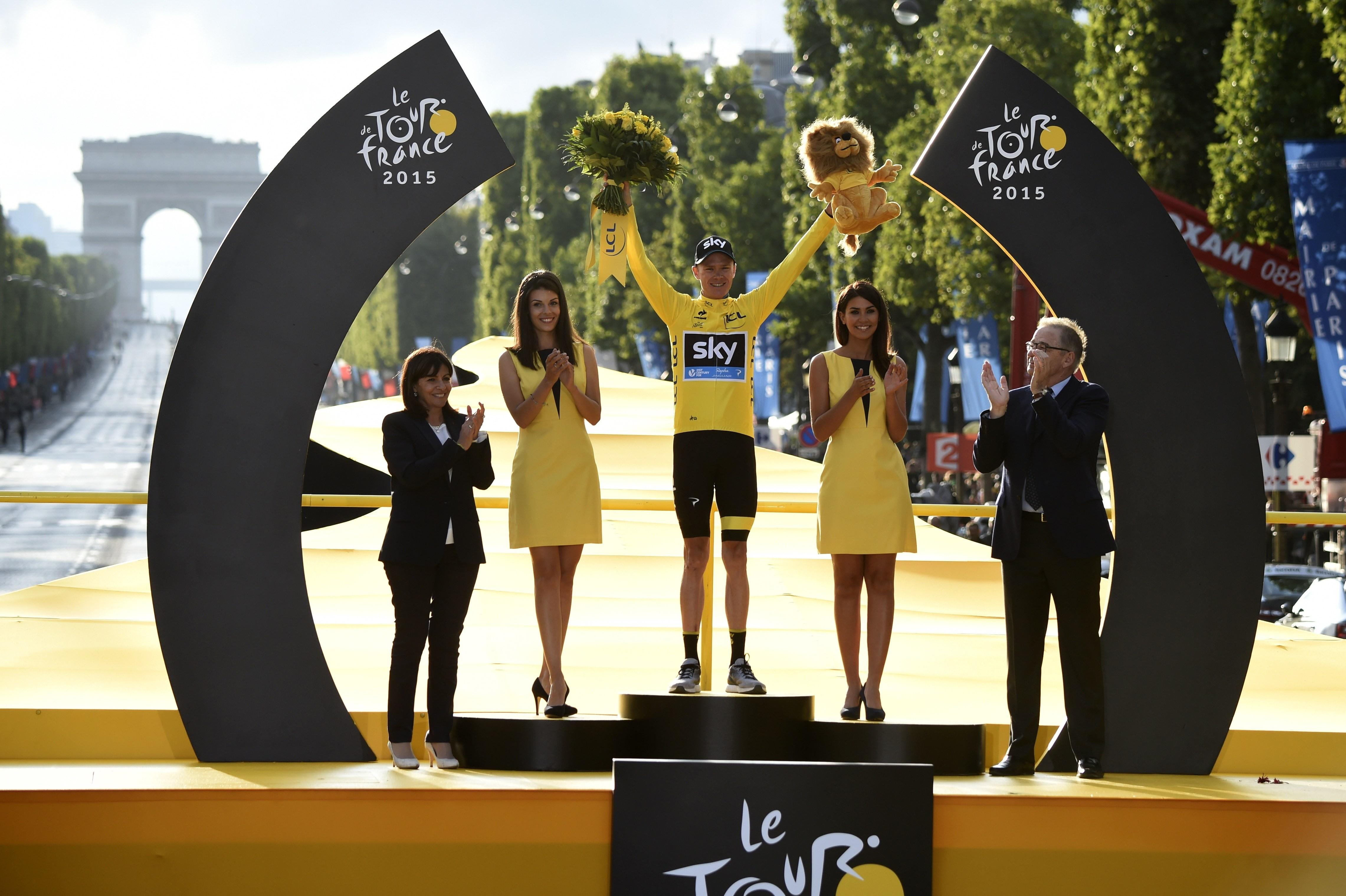 The use of podium girls at the Tour de France is set to come to an end