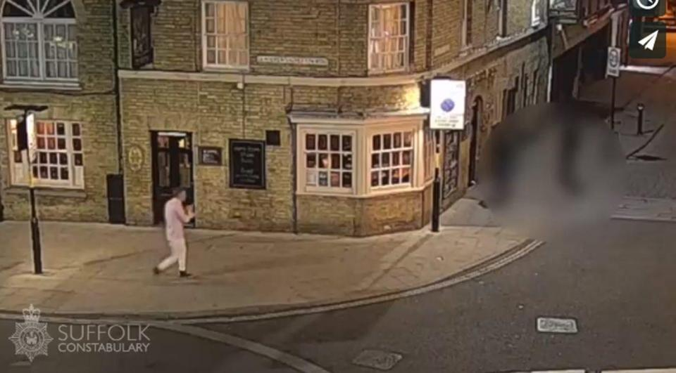 Cops released CCTV of the last known journey Corrie made through the Suffolk town - however other pieces of footage have now been confirmed to not be the missing RAF gunner