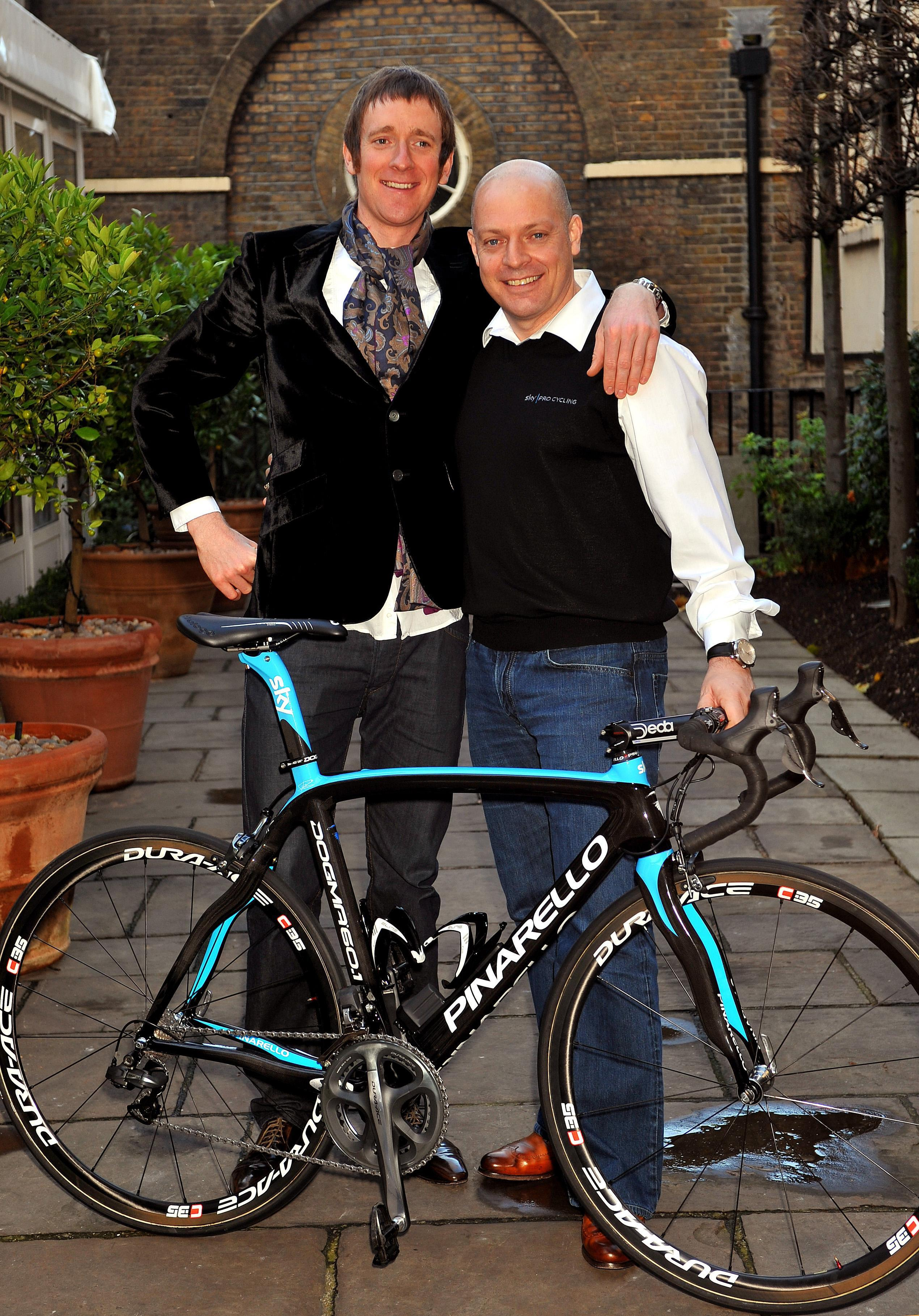 """Wiggins and Brailsford have been accused of """"crossing an ethical line"""" by the DCMS report"""