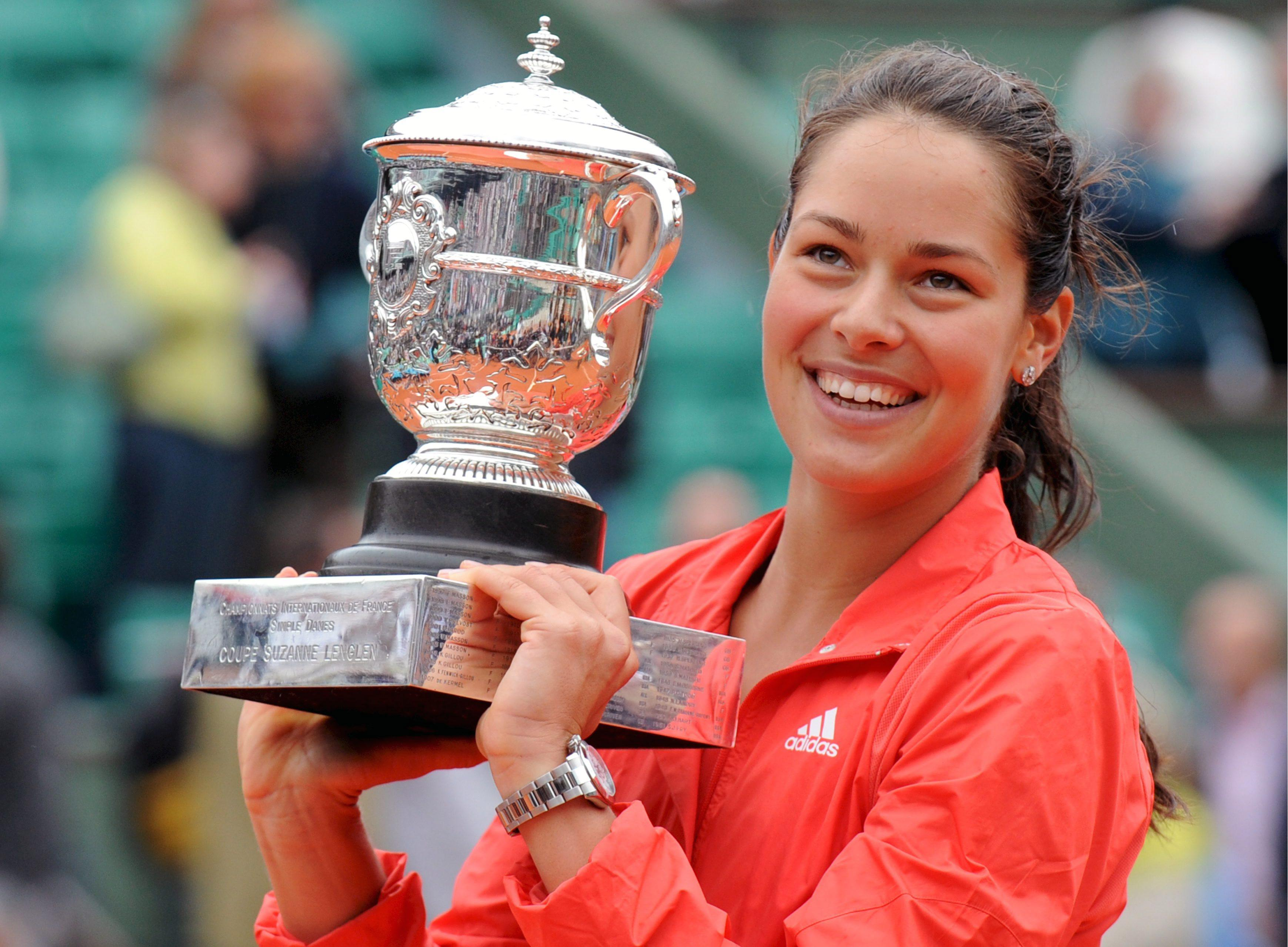 Ivanovic won the French Open in 2008