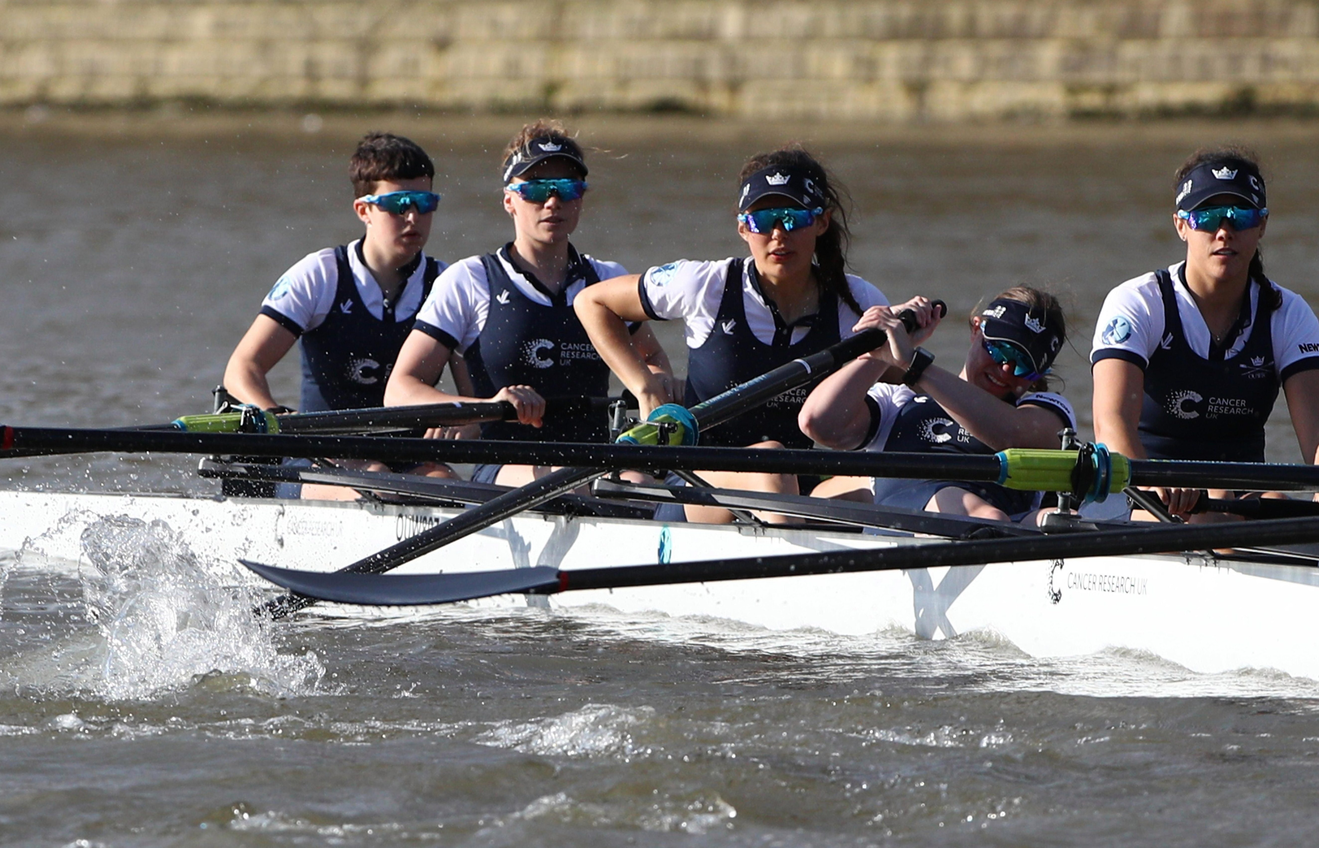 The boat race is an annual rowing event between two top British universities with this year's scheduled for this Saturday