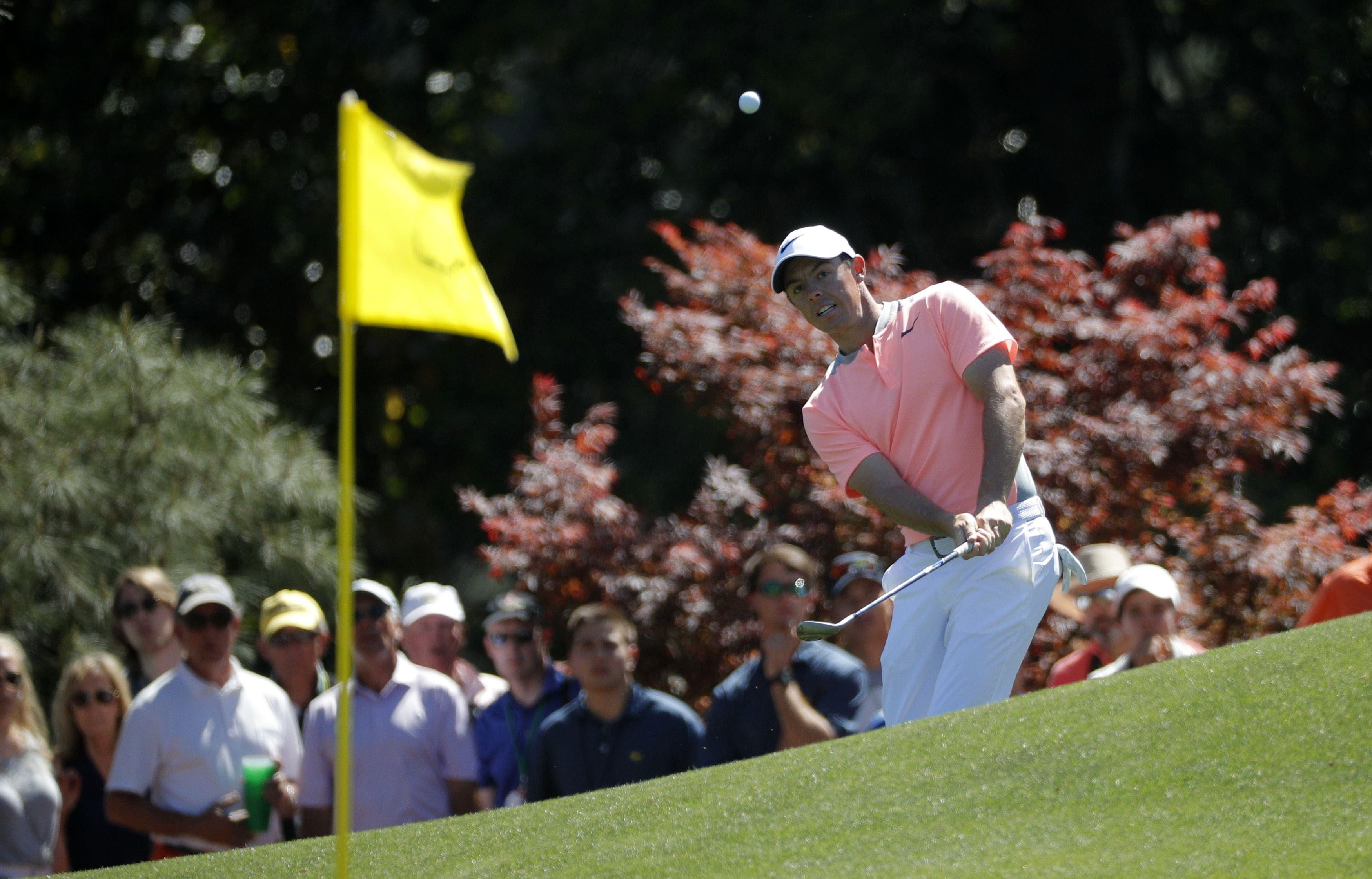 Rory McIlroy will be out to win his first Masters