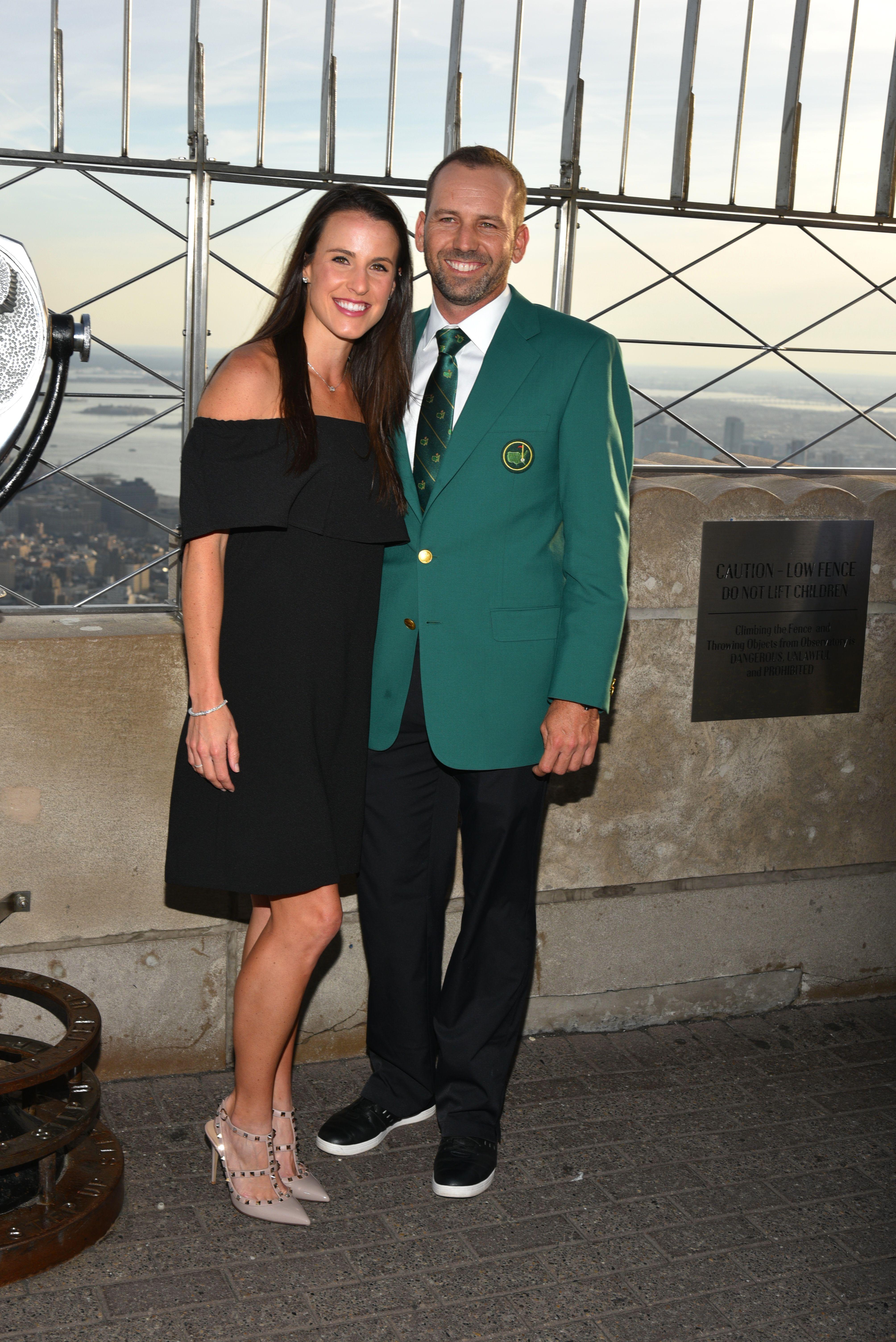 Sergio Garcia married his American wife last year
