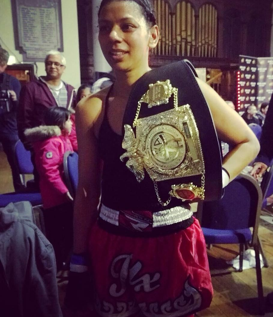 Ruqsana Begum reached the top in kickboxing and could do the same in boxing