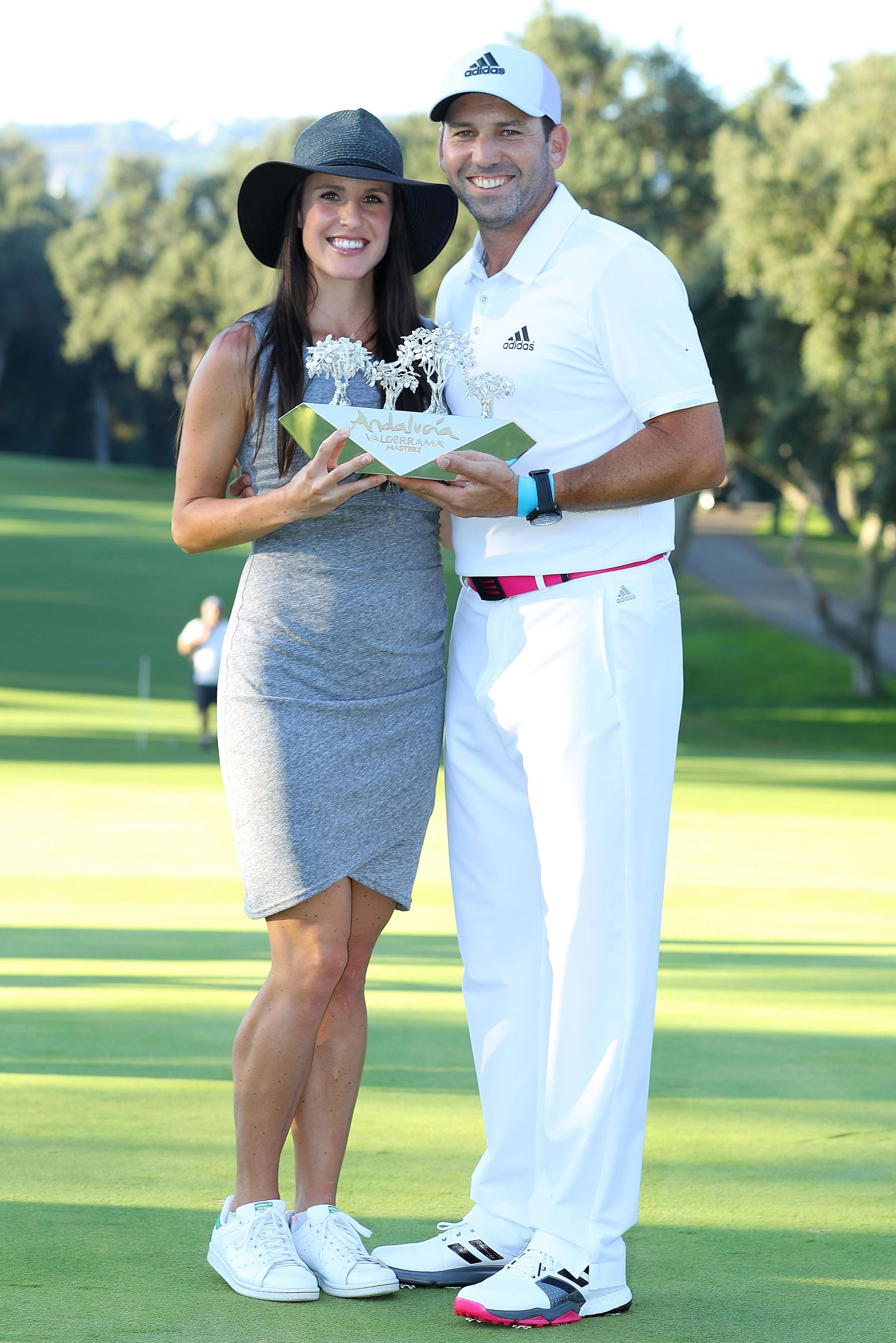 Sergio Garcia says his daughter is due to appear ahead of schedule