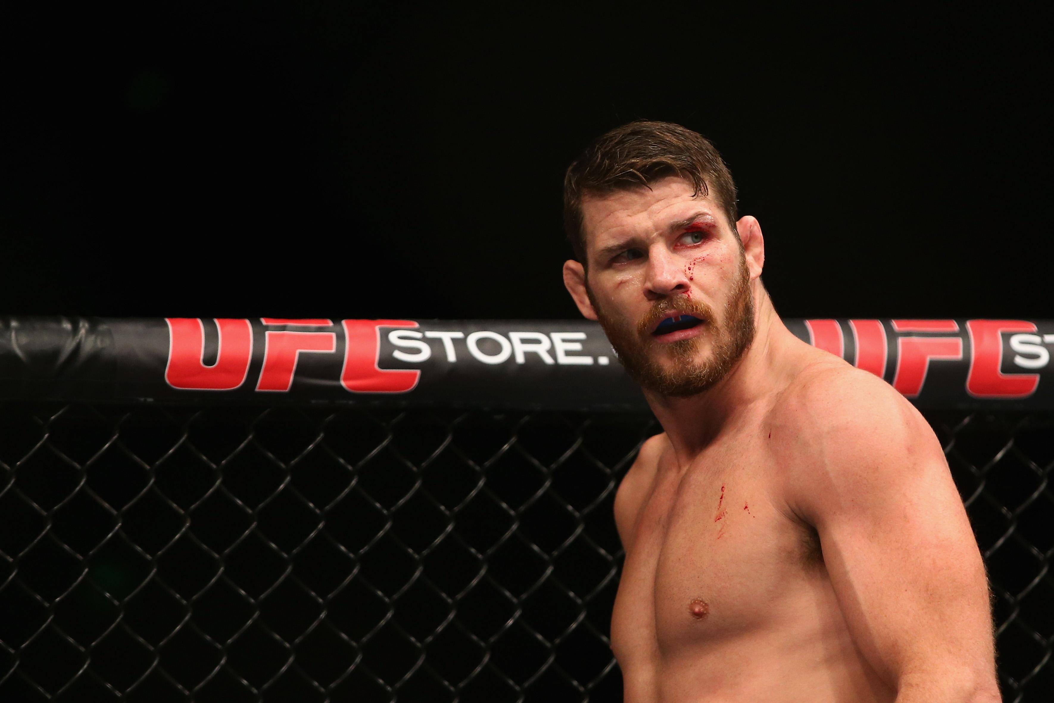 Michael Bisping could turn his back on the sport after 12 years