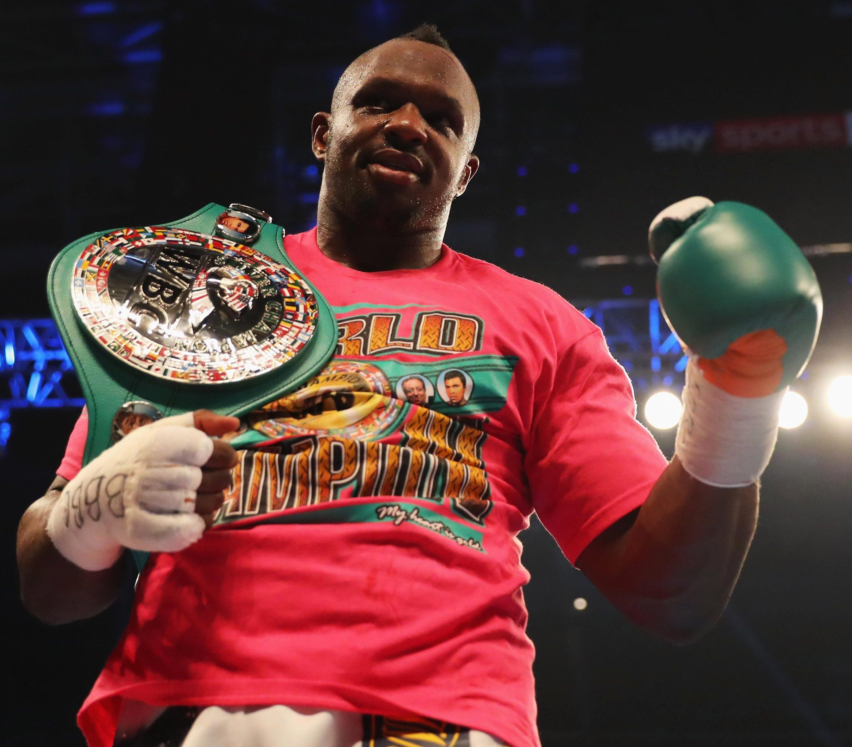 Dillian Whyte is confident he is just two wins from dethroning Anthony Joshua and becoming world heavyweight champion