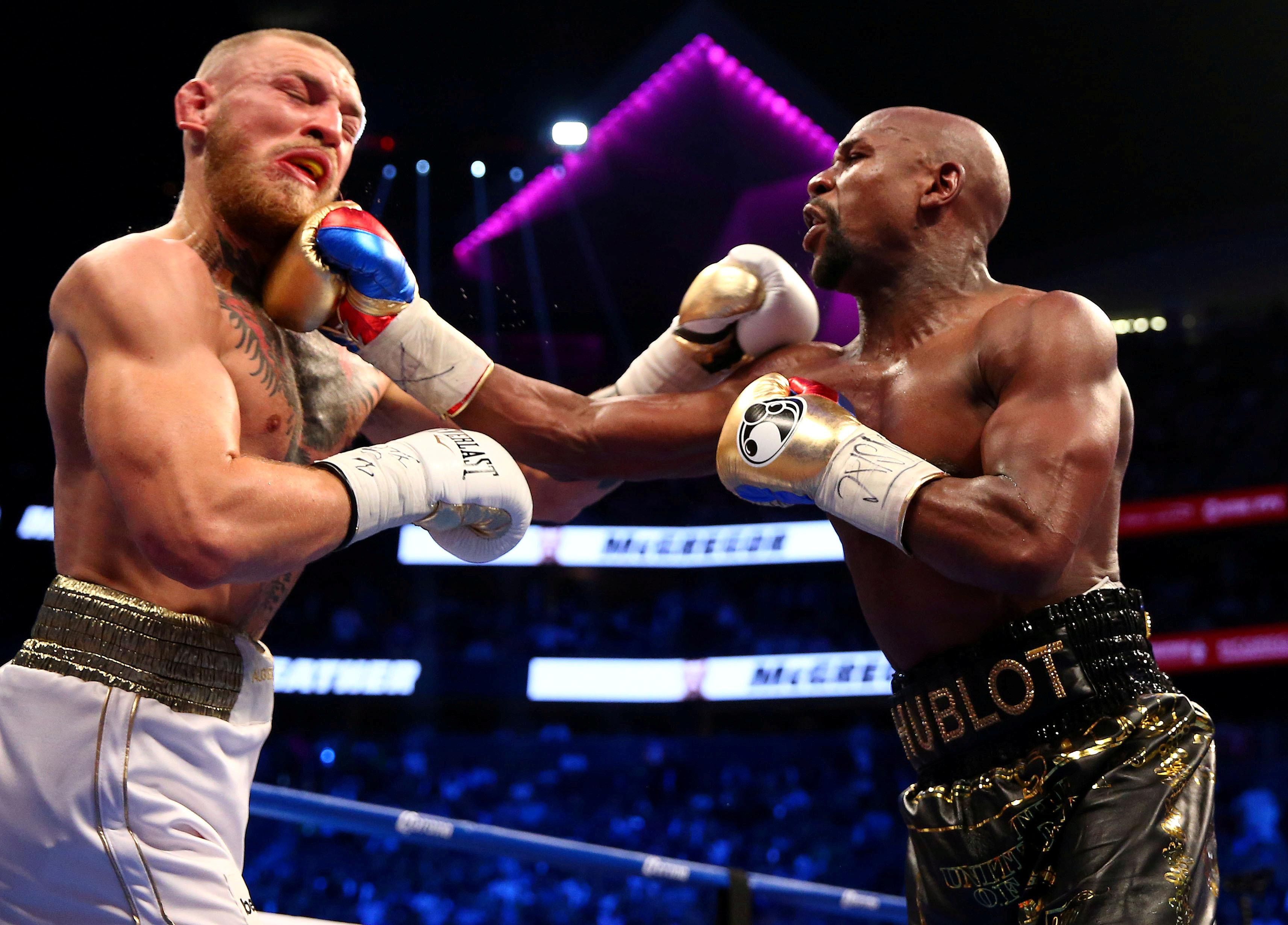 Conor McGregor is thought to have earned a staggering £77m for fighting Floyd Mayweather