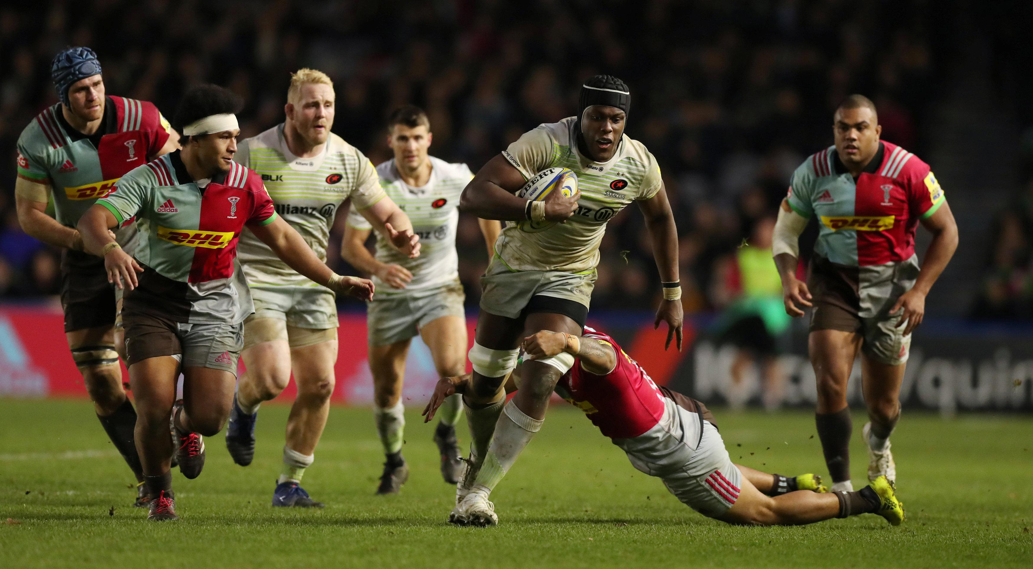 Saracens are looking to earn revenge after a one-point defeat at The Stoop earlier this season