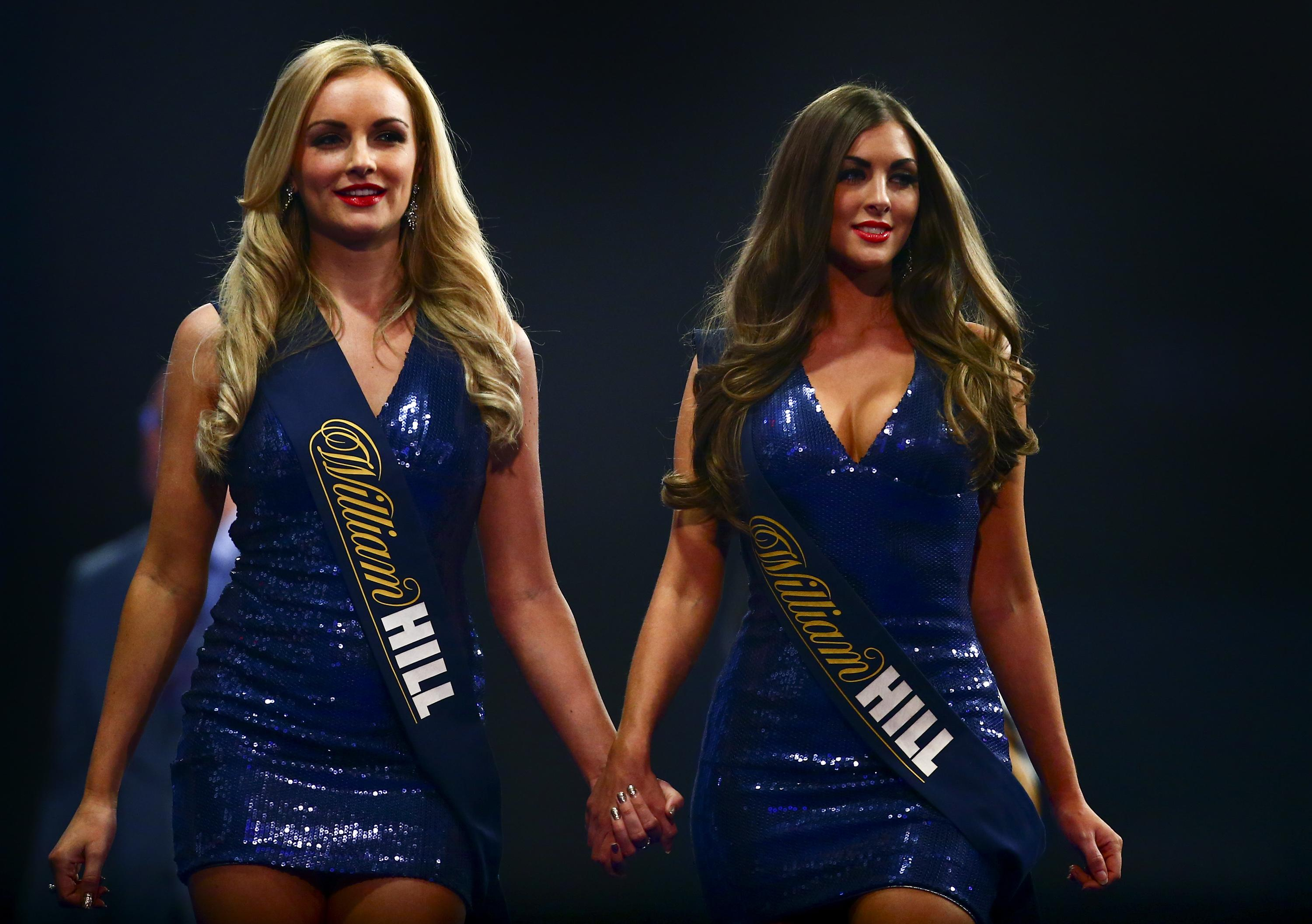 Darts led the way by dropping the use of walk-on girls