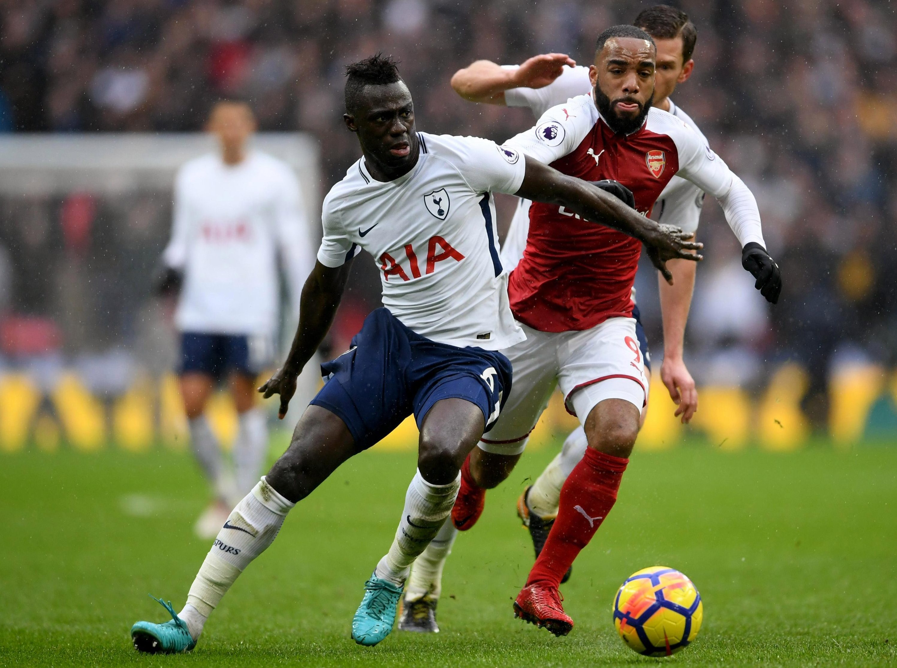 Lacazette has not figured since the North London defeat to Tottenham in early February