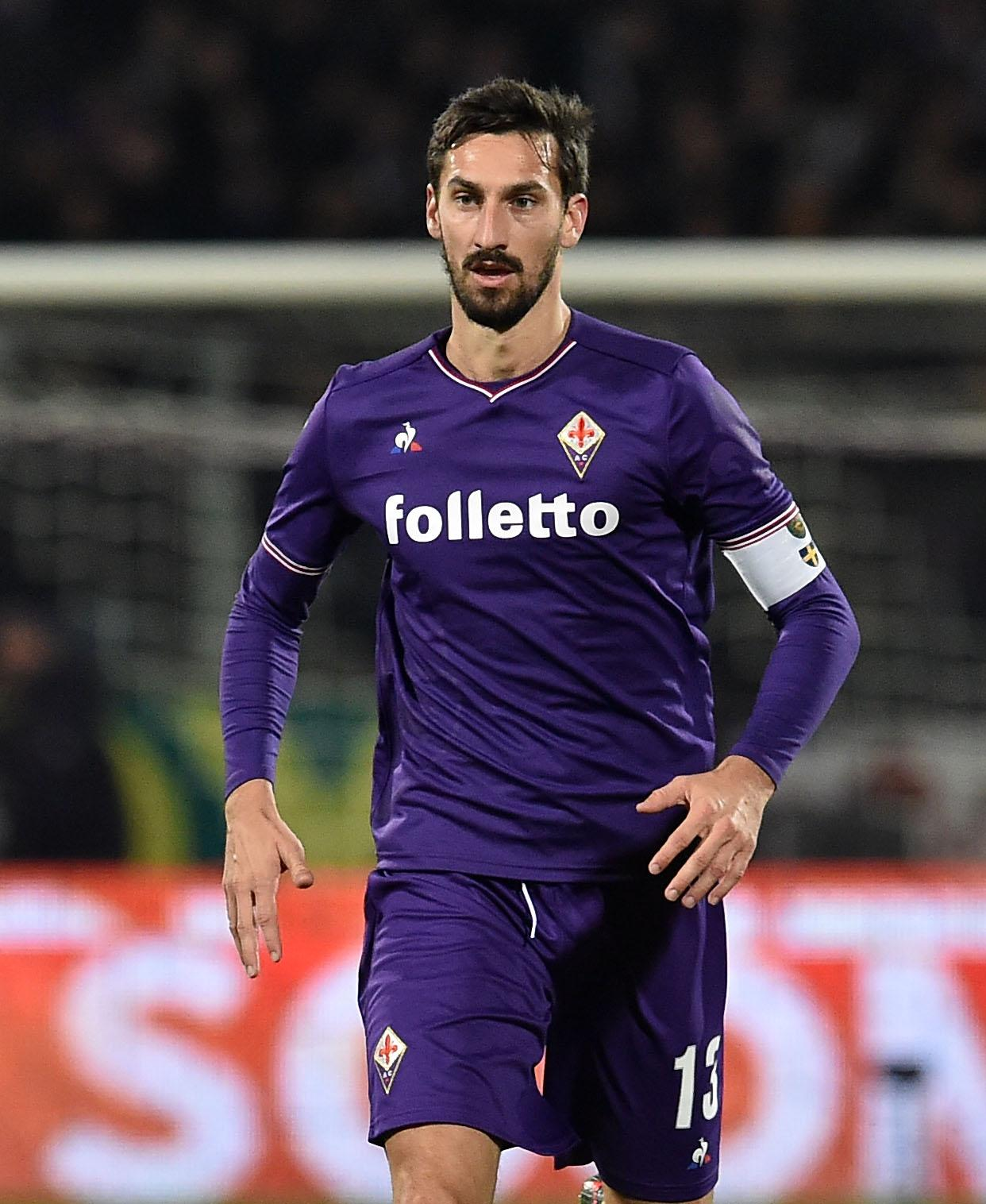 Fiorentina captain Davide Astori found dead