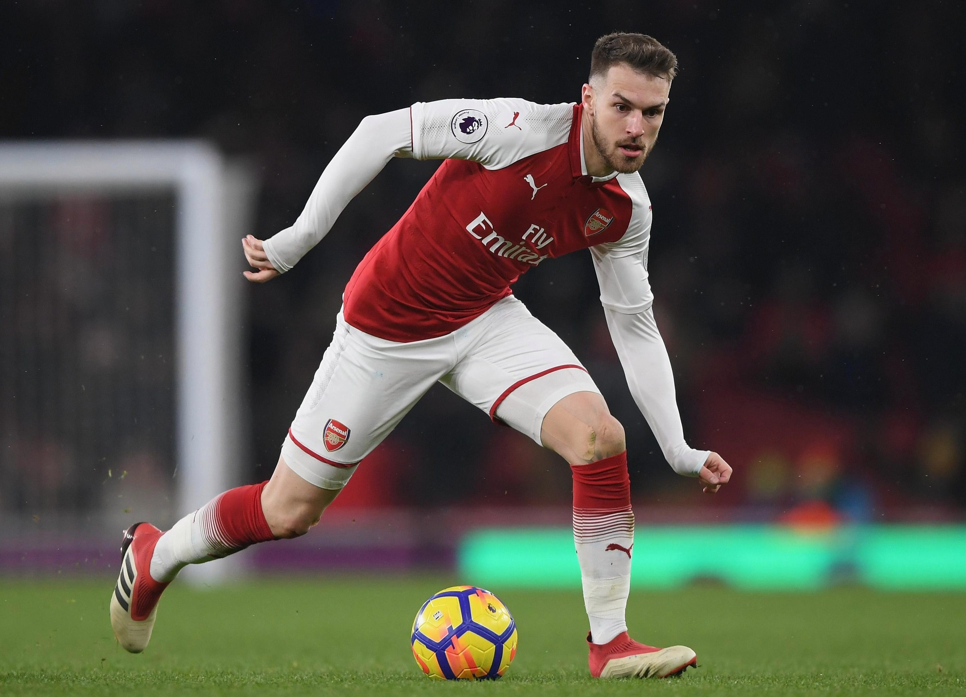 Aaron Ramsey is coming to the end of his Arsenal contract