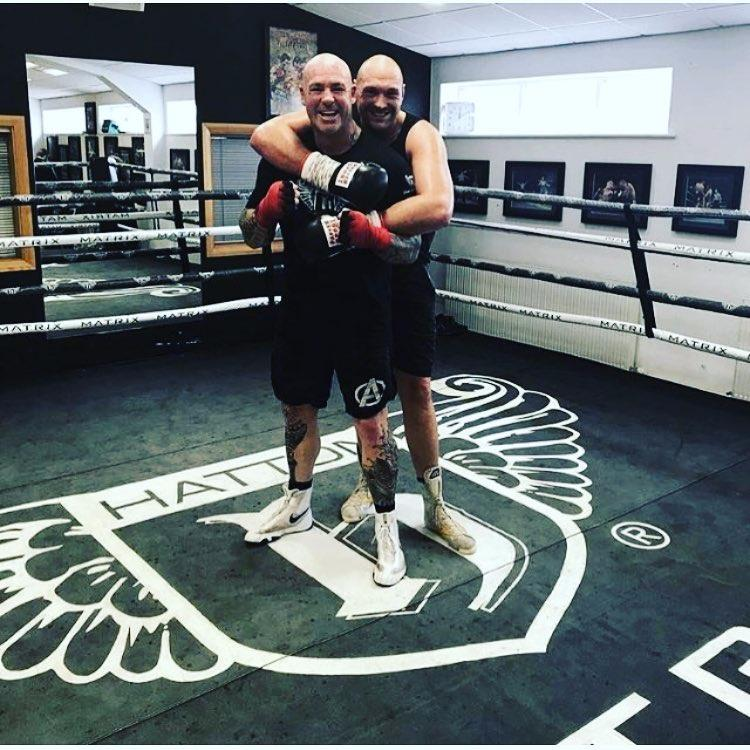 Tyson Fury has been sparring with Australian Lucas Browne