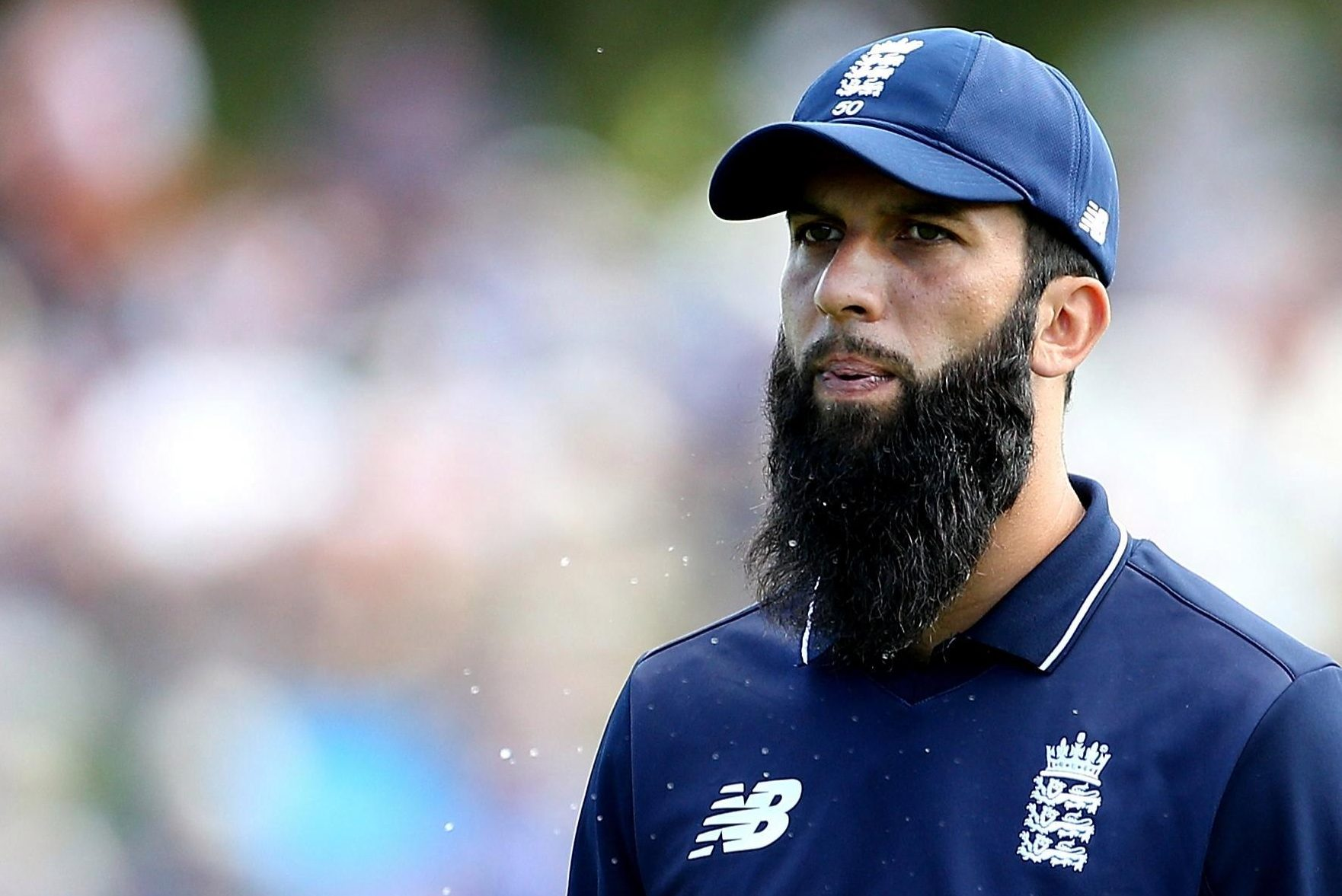 Moeen Ali is playing with a damaged finger and sore shoulder