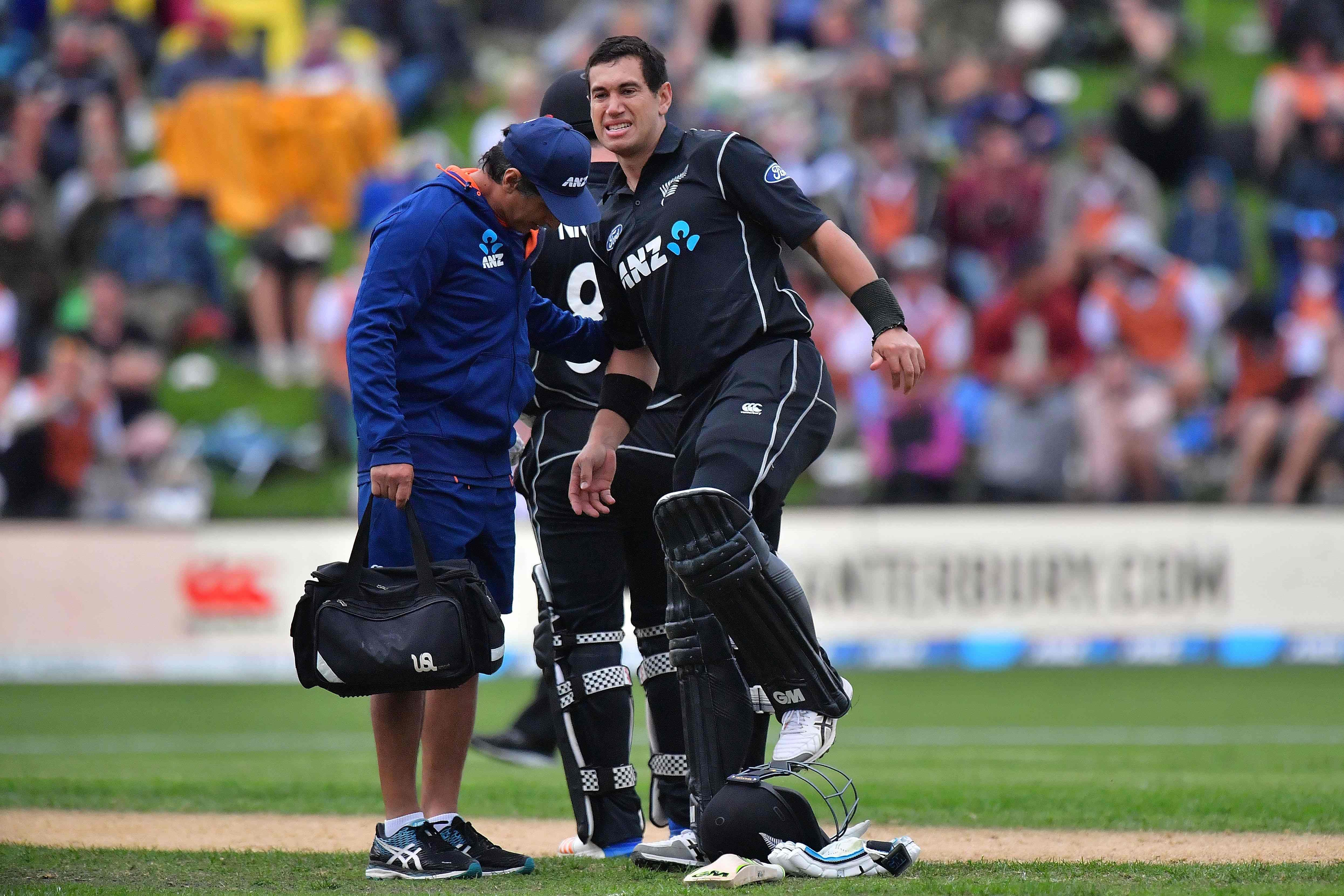 Ross Taylor was suffering from a thigh injury which made the 181 not-out innings even more amazing