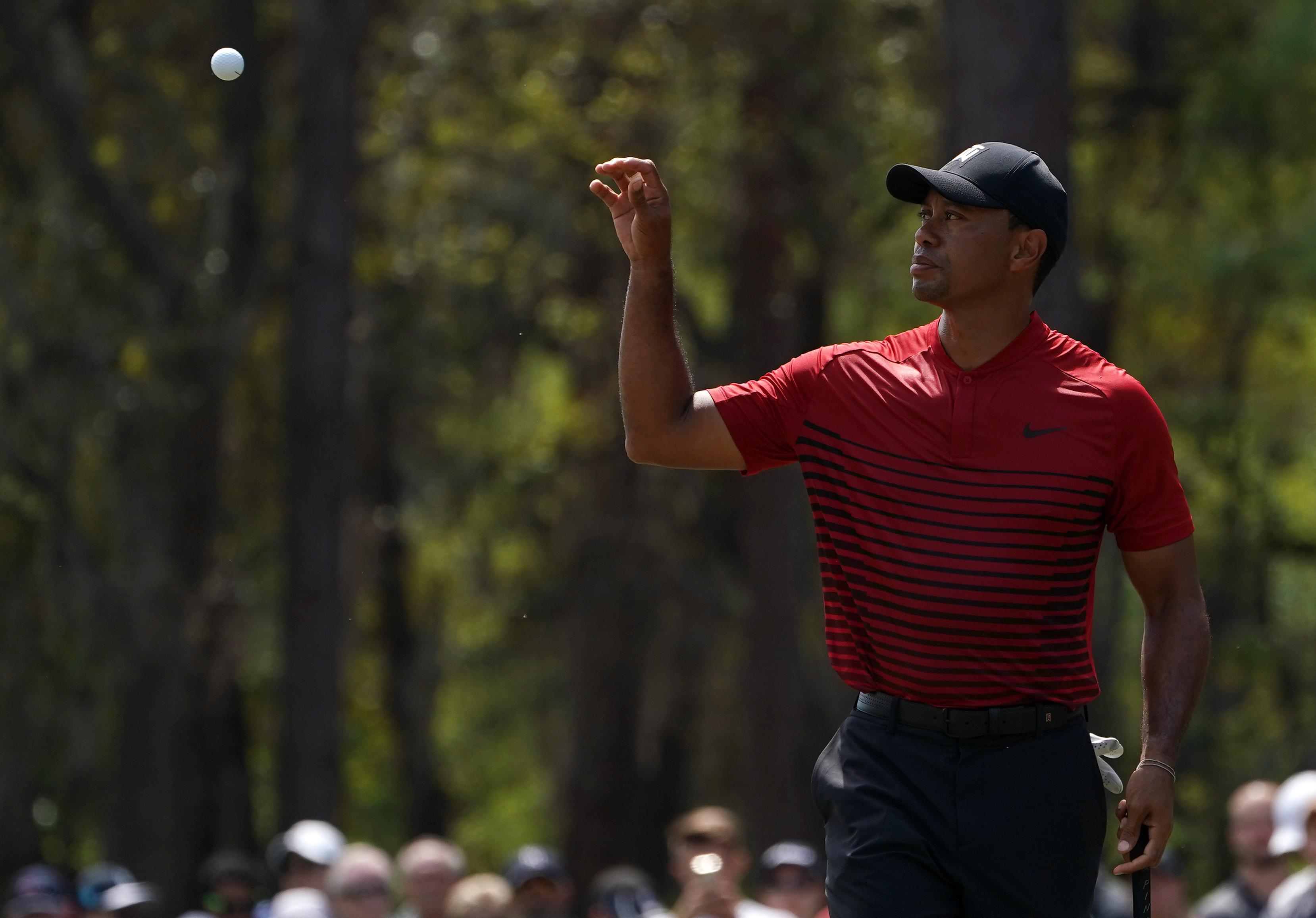 Tiger Woods looks to have rediscovered his form