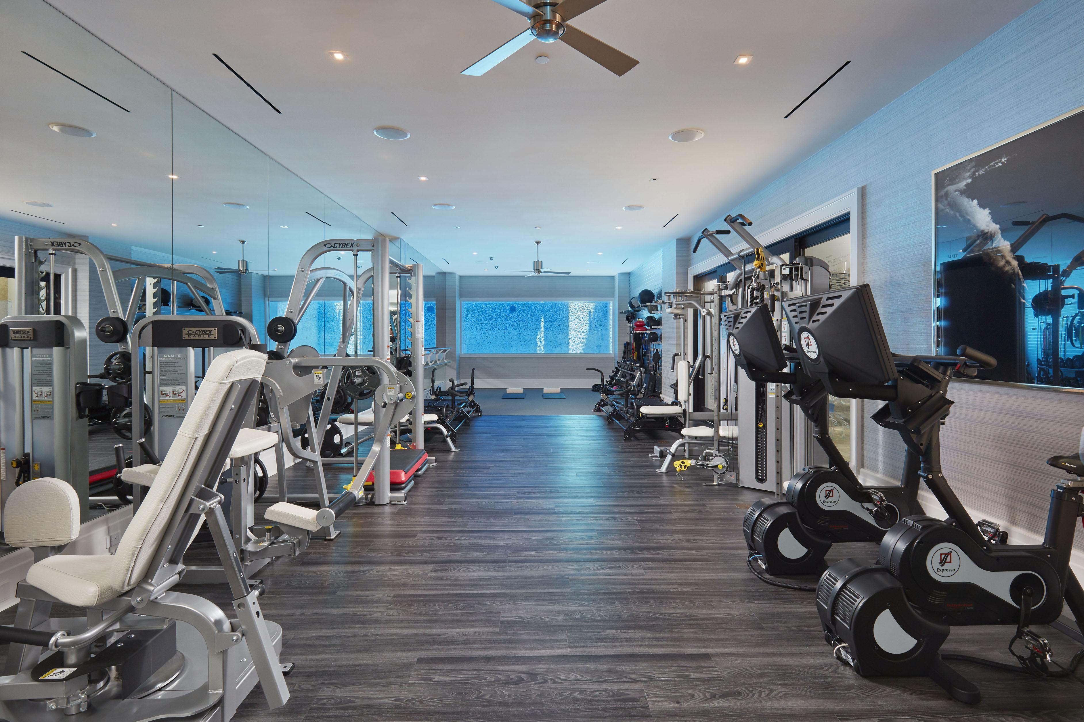 Elin Nordegren's Florida mansion includes a huge gym